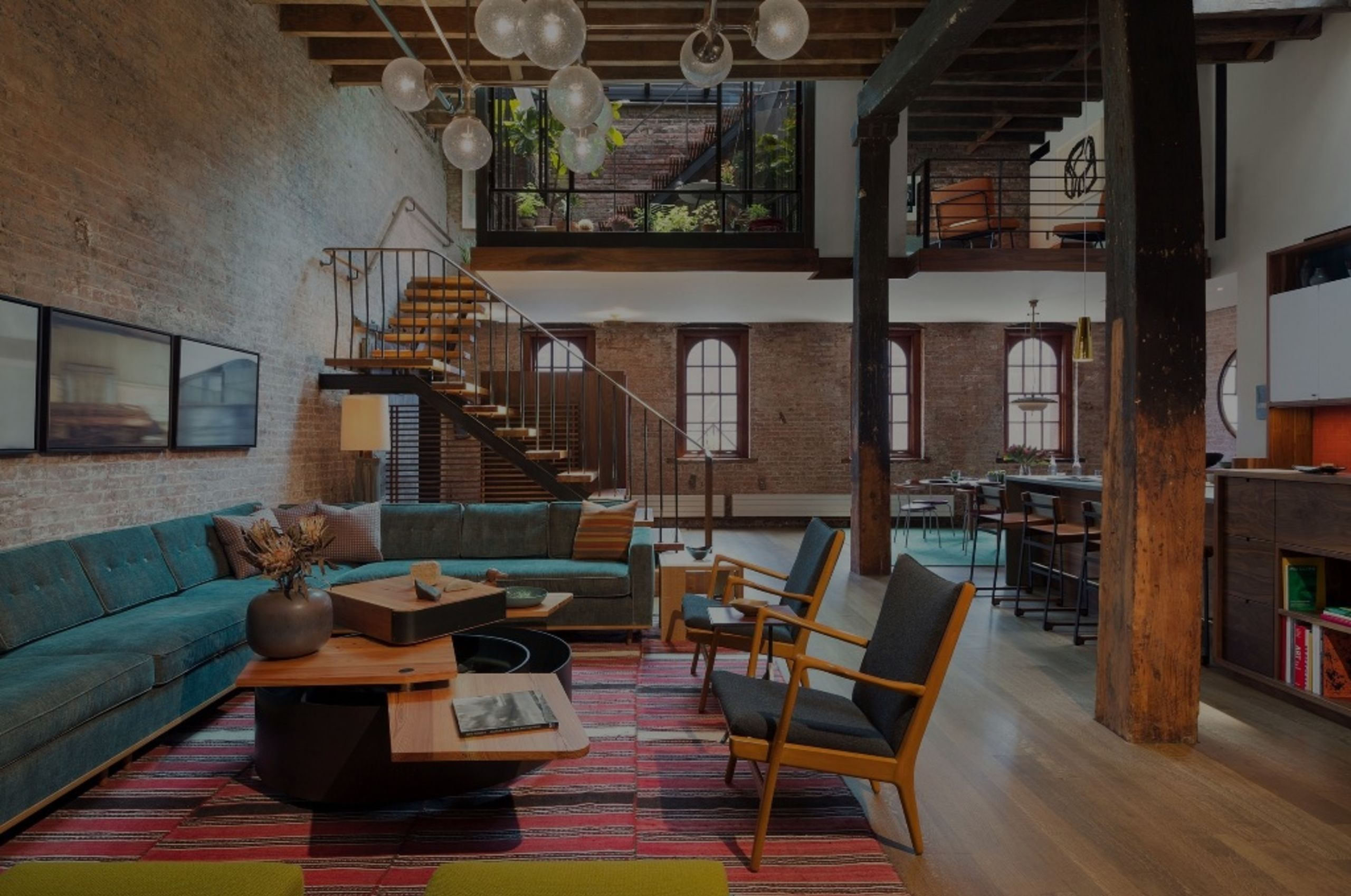 7 brilliant converted warehouse homes (Via Curbed)