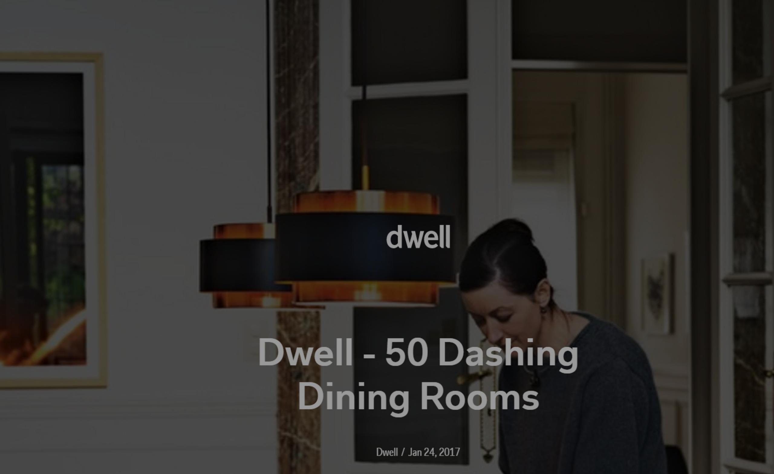 Dwell- 50 Dashing Dining Rooms