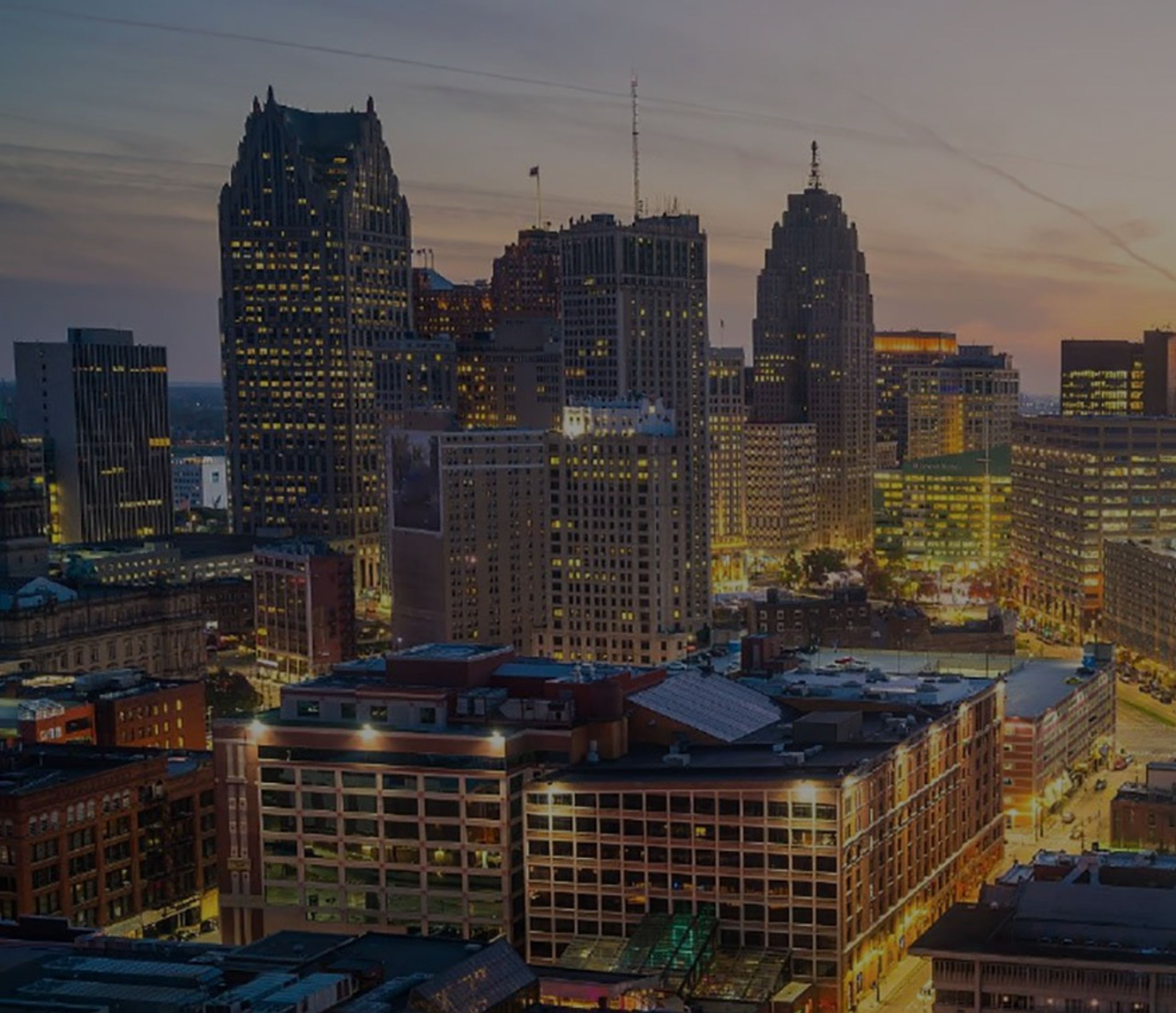 """""""At least $5.4 billion in real estate development and redevelopment projects are underway or proposed in and around downtown Detroit the next three years, according to report recently released by an international real estate firm."""""""