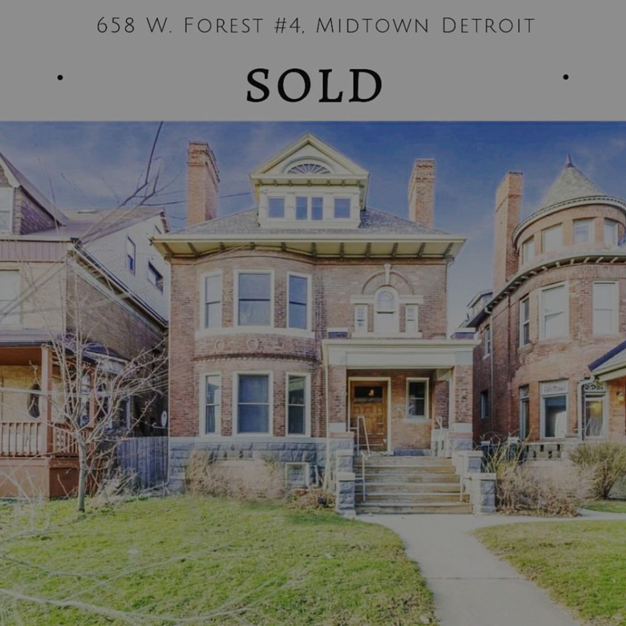 SOLD! – Midtown Detroit Condo !