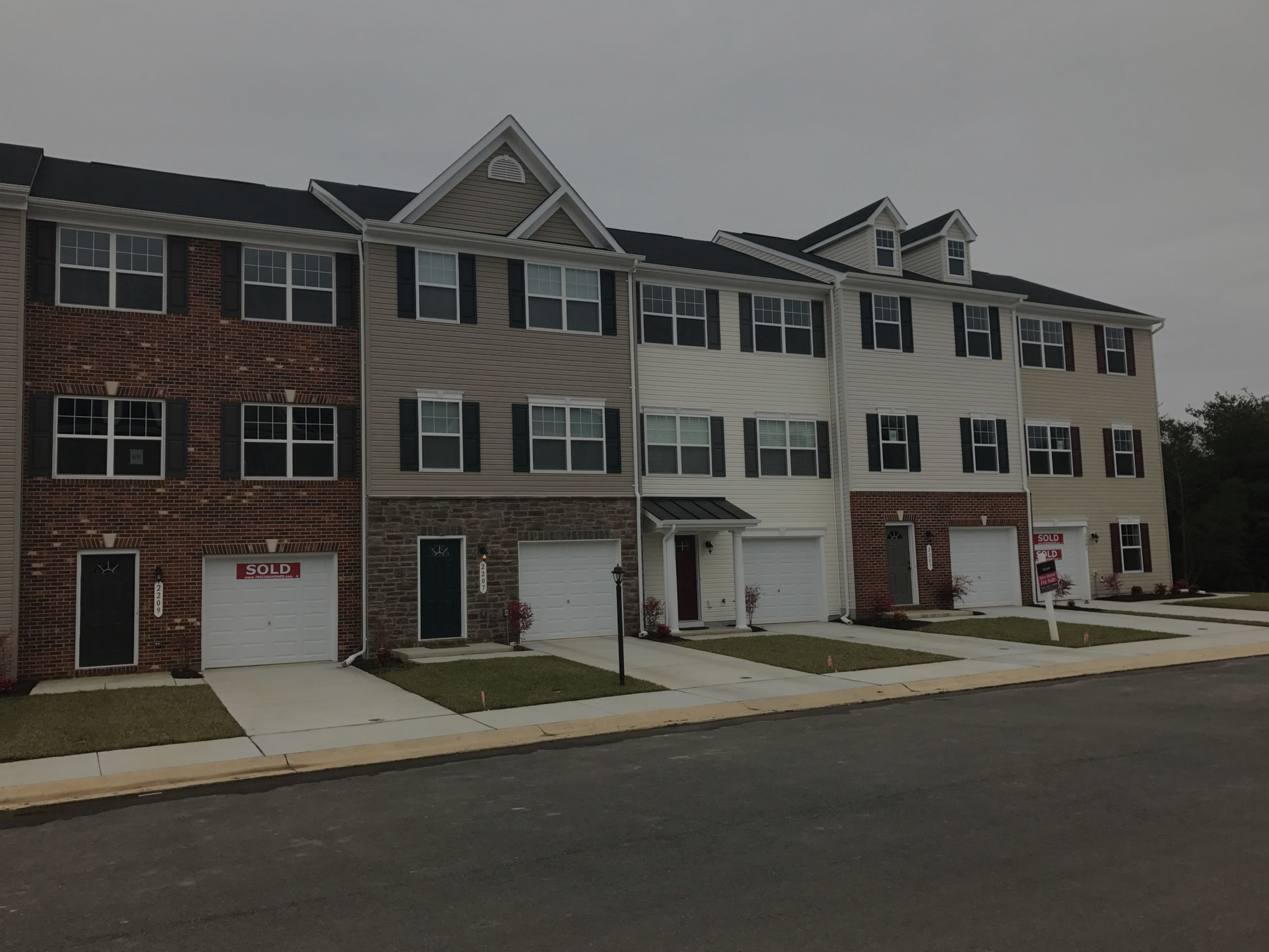 New Townhomes in Mallard Landing Community