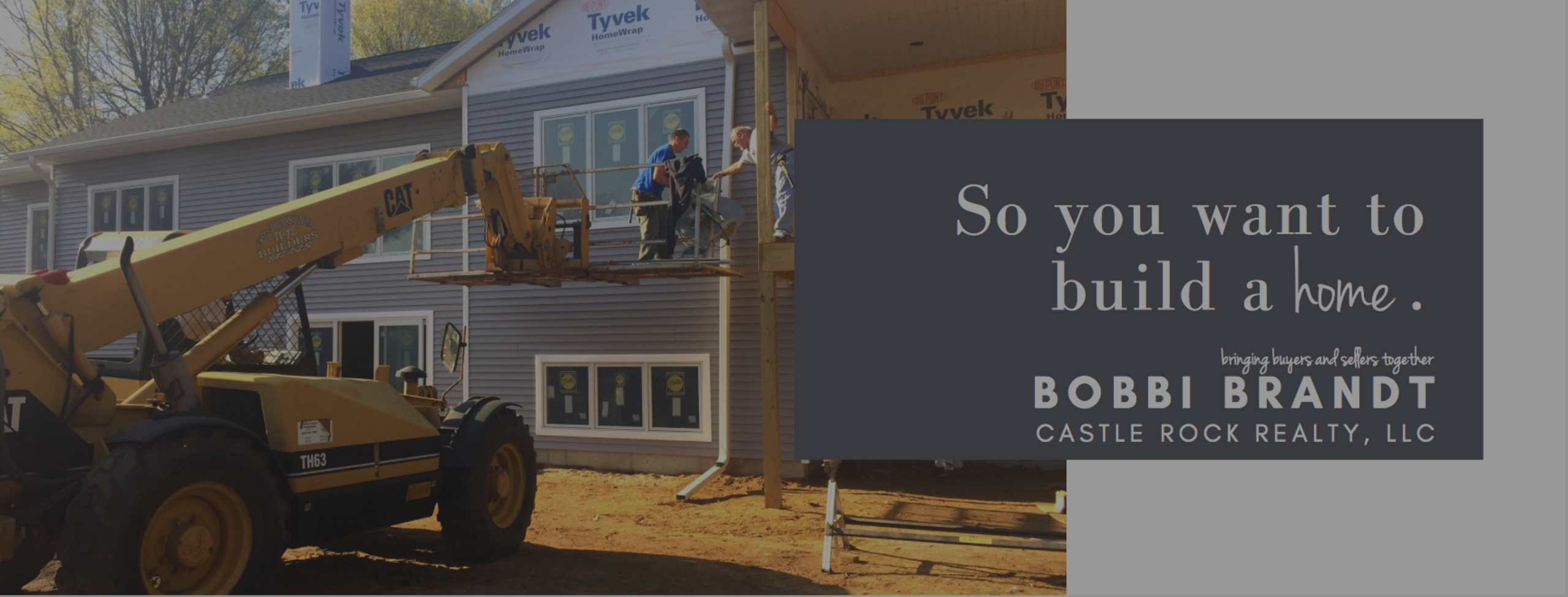 So you want to build a house…