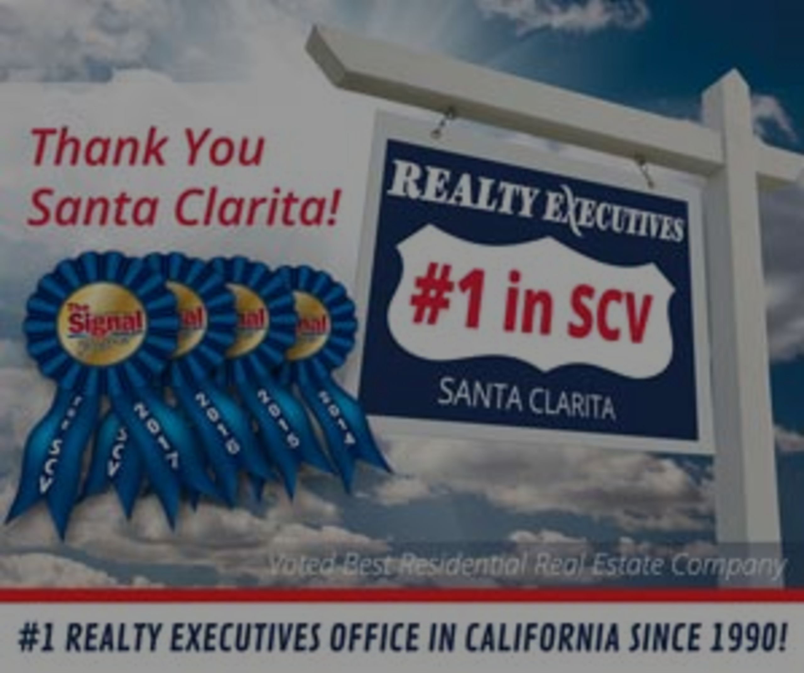 SCV's Best Real Residential Estate Company 4 Years in a Row!