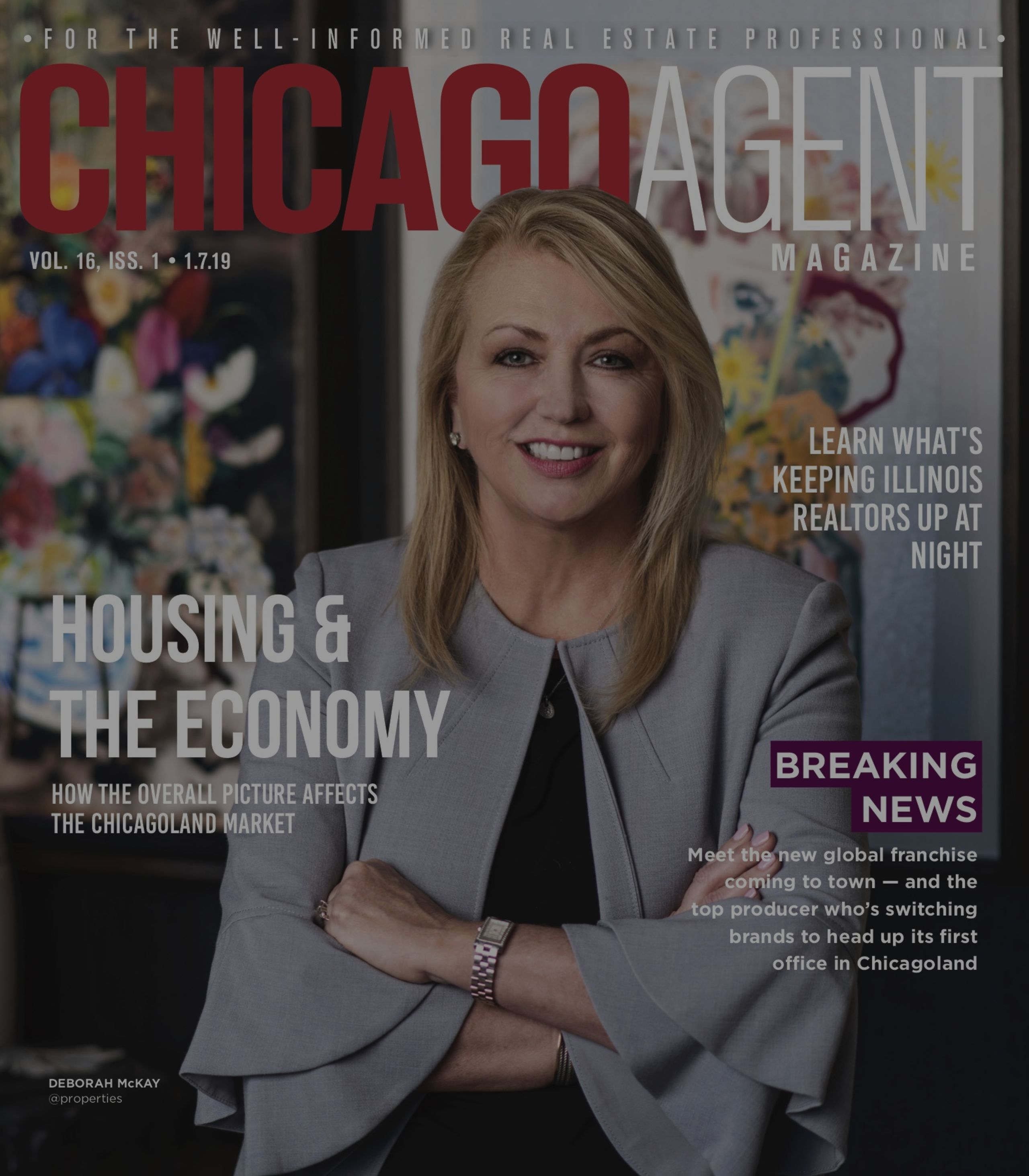 Debora's Feature in Chicago Agent Magazine – 'How the Economy Impacts Chicagoland Real Estate'