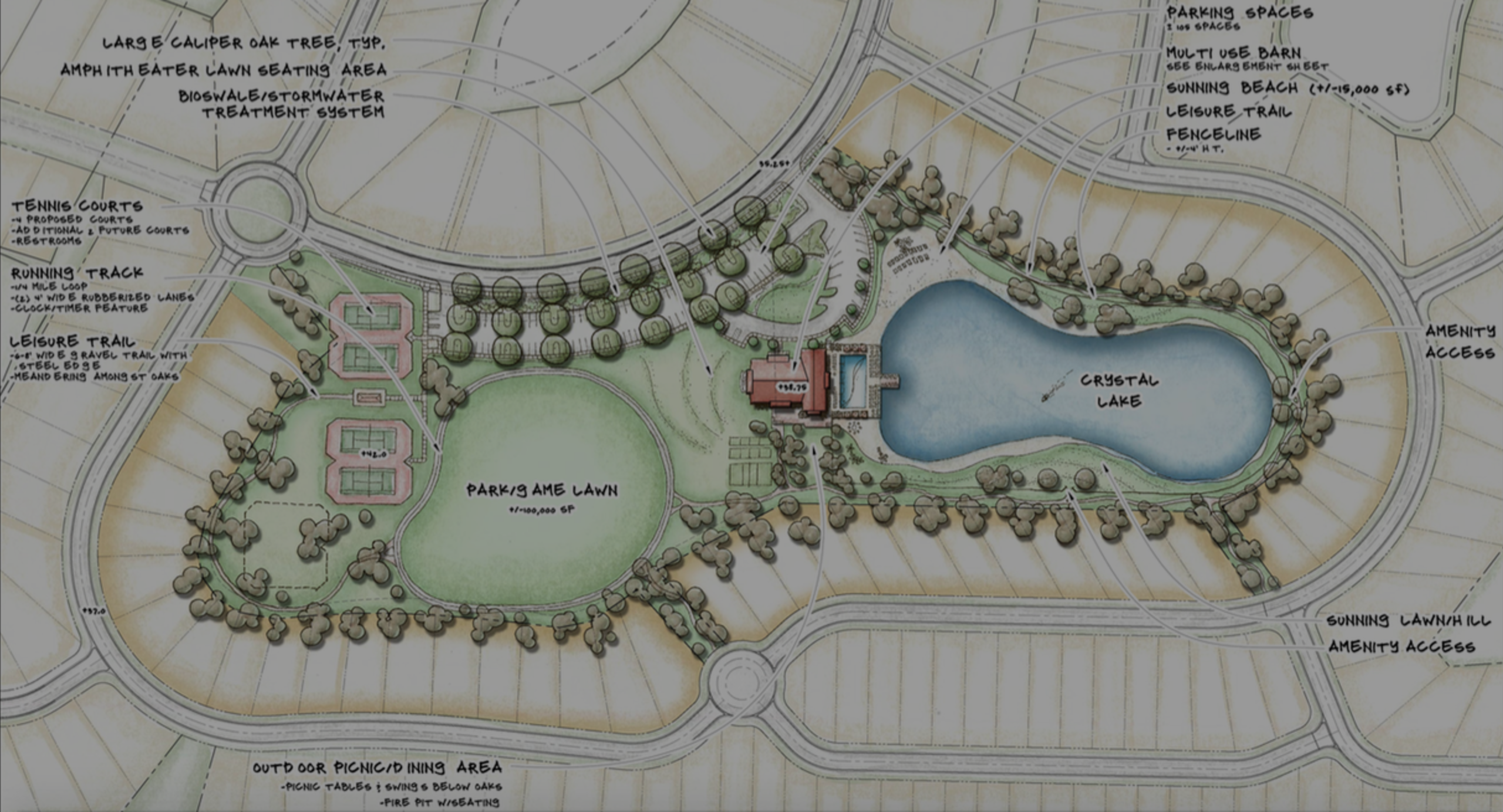Hampton Lake New Construction Amenities Revealed