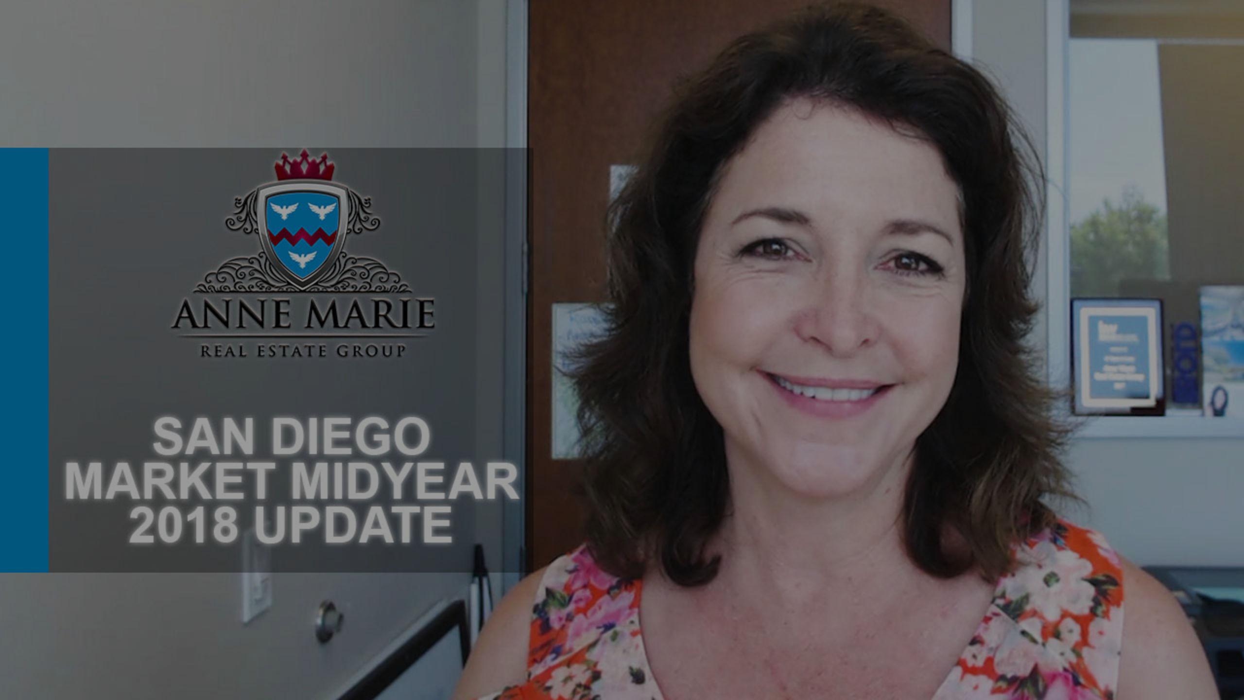 San Diego Market Midyear 2018 Update
