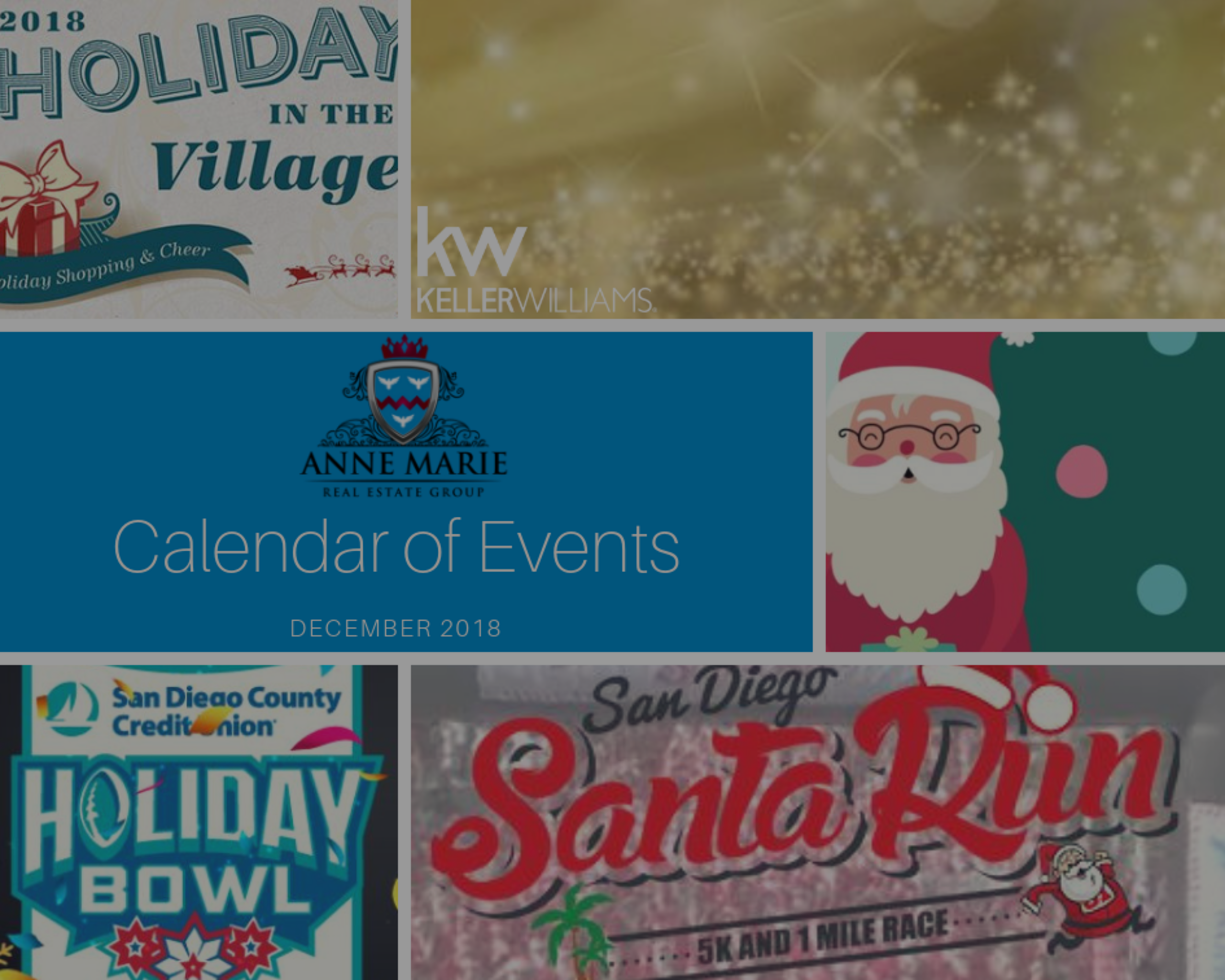 December 2018 Events in San Diego