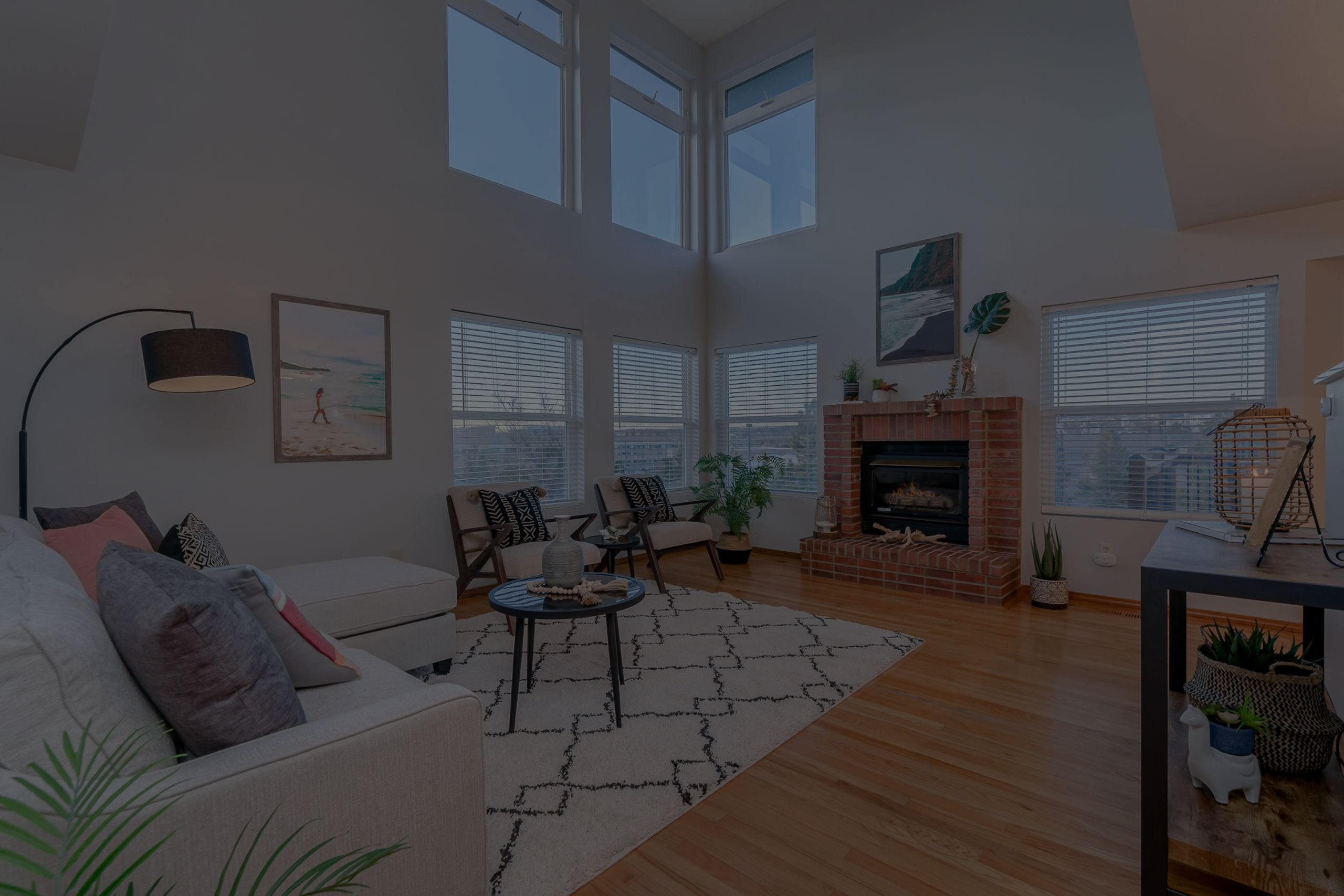 Staging to sell a lifestyle