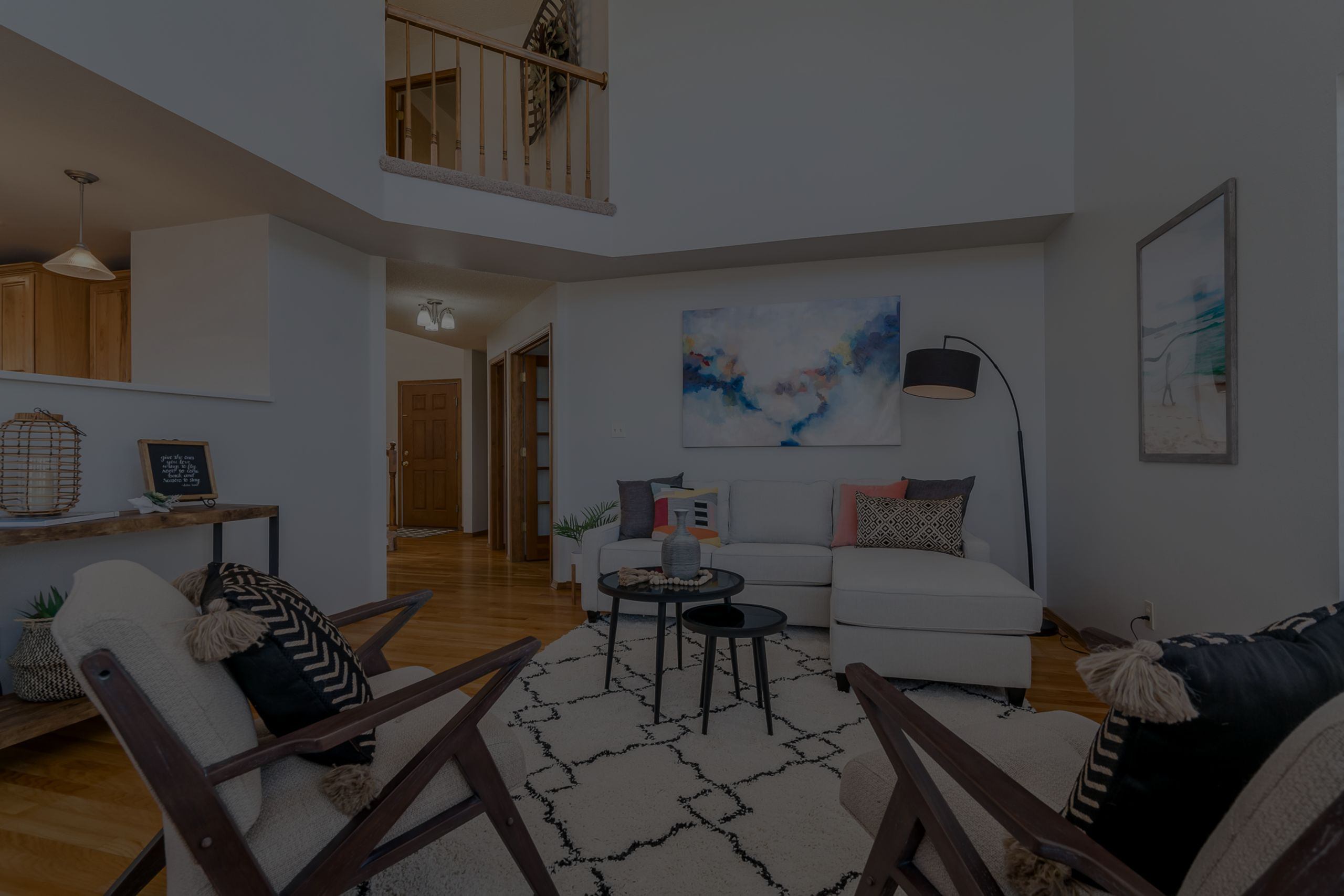 Fresh, contemporary staging