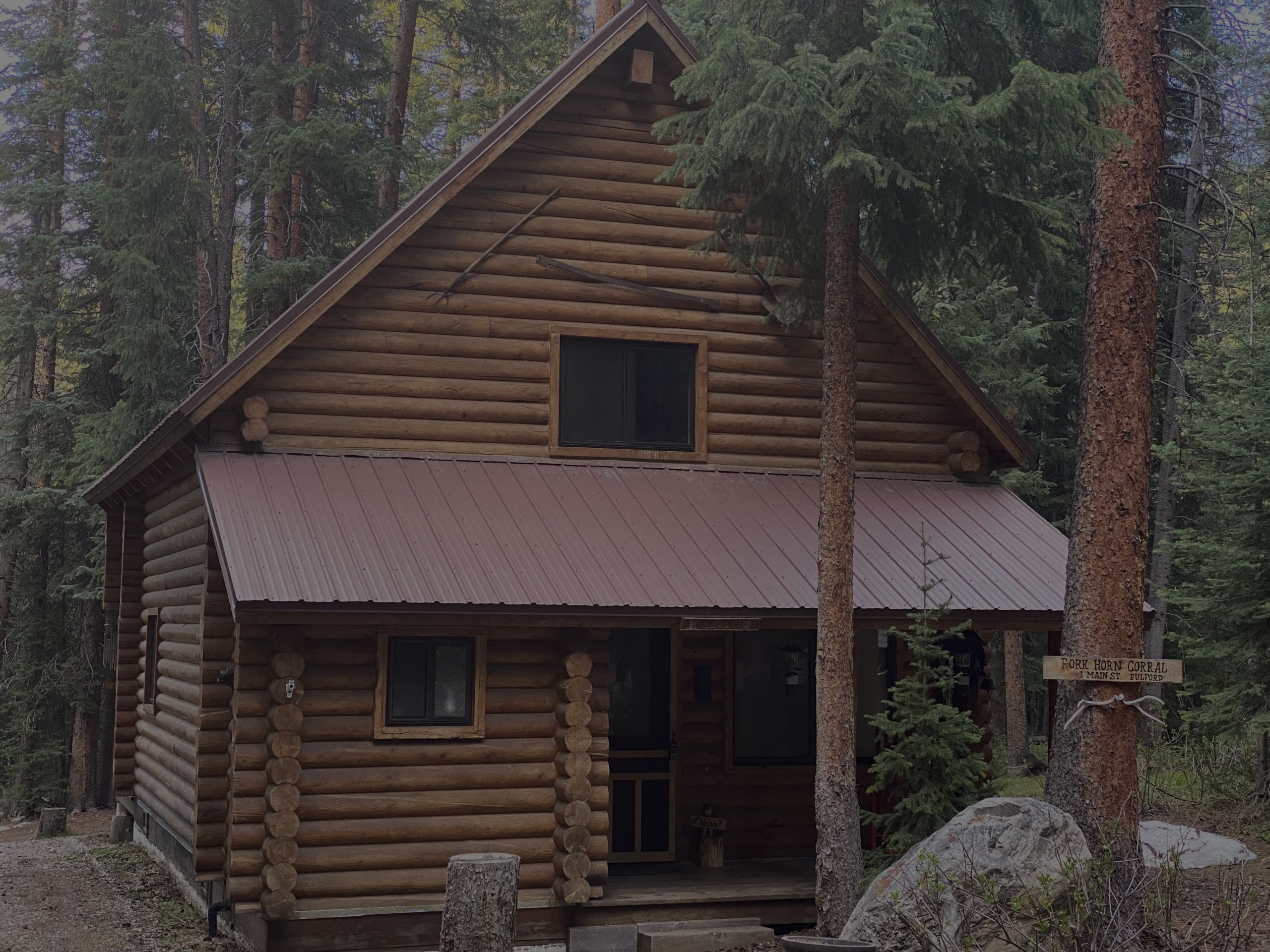 Fulford Cabin on 6 lots