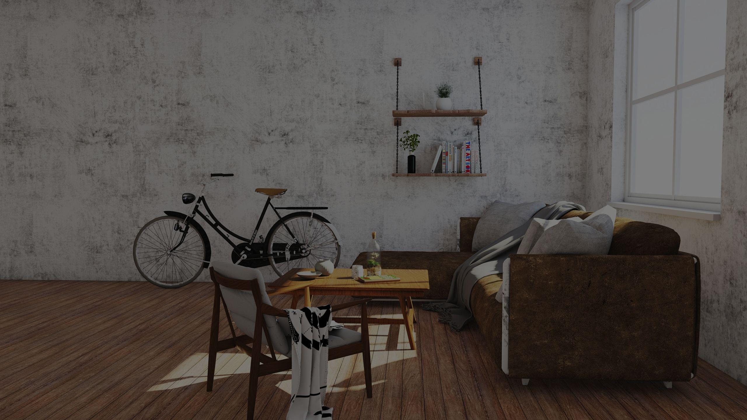 "Call it ""Bike Art"" in Your Penthouse Loft"