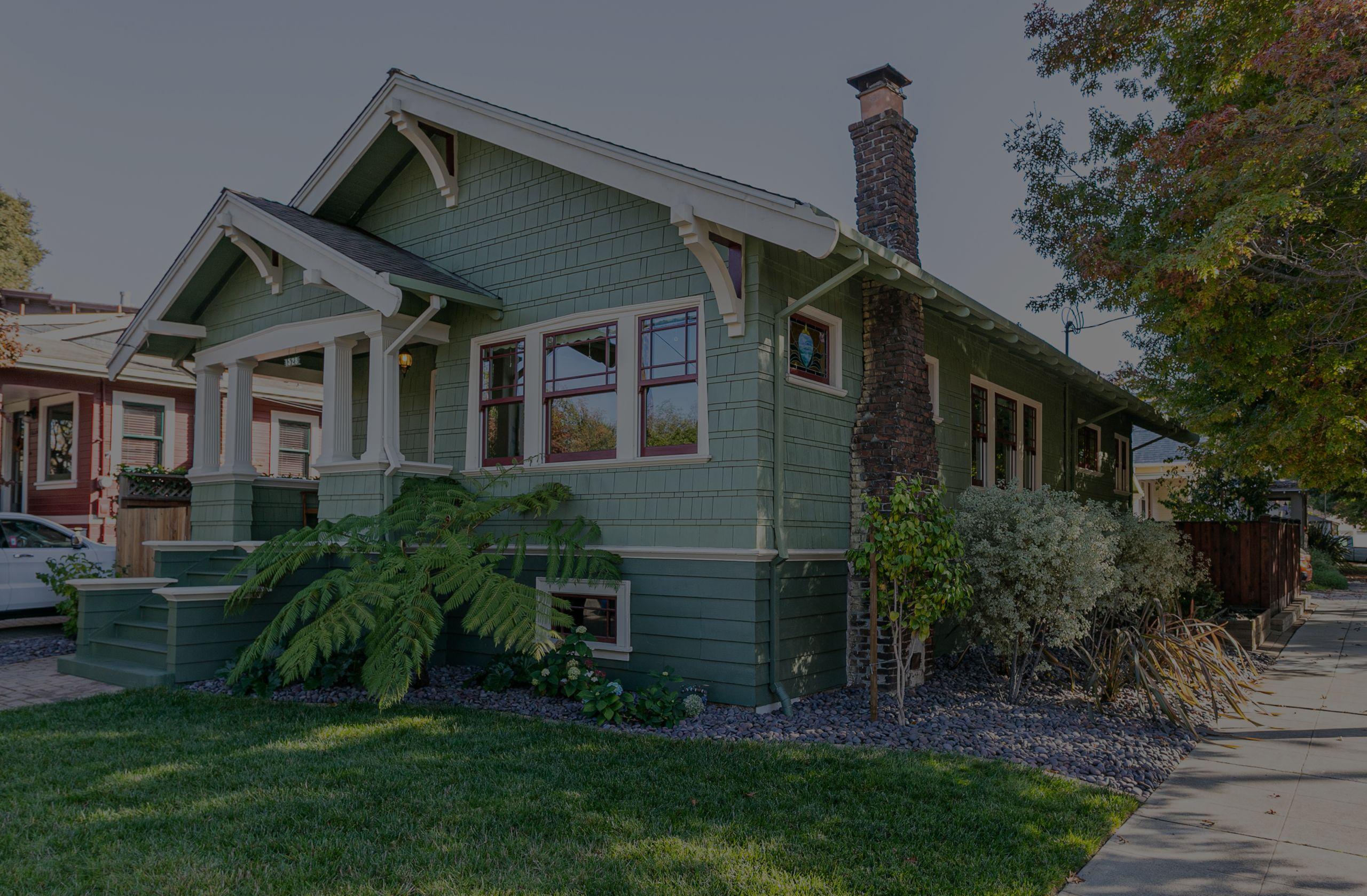 Craftsman cottage on Santa Clara Ave