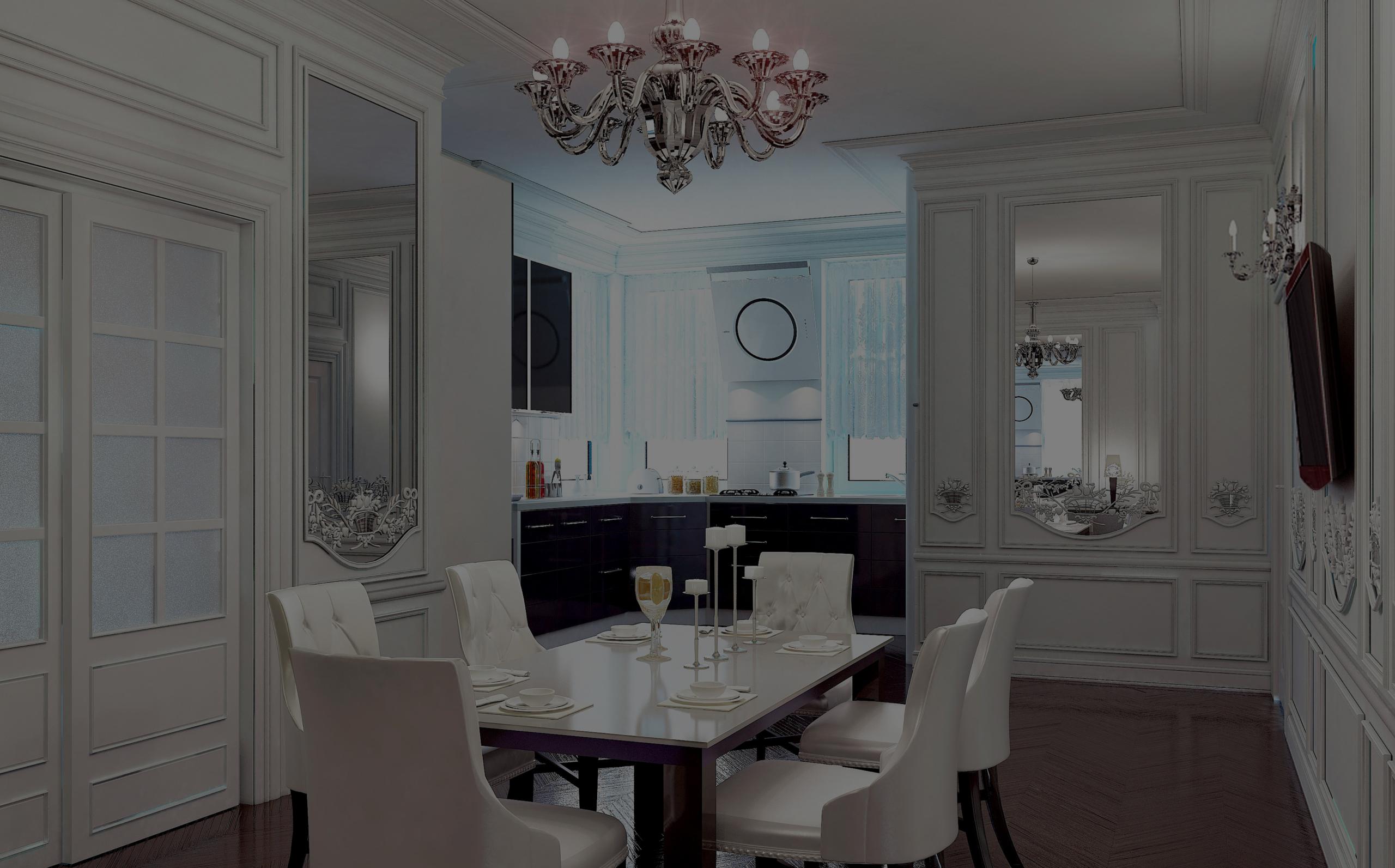 Casual elegant dining