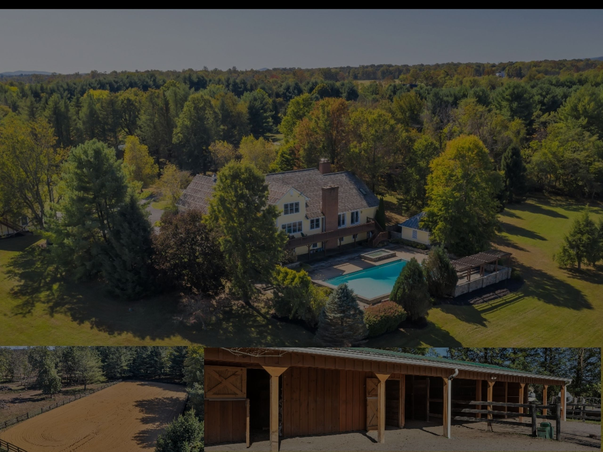 PRIVATE & SECLUDED ESTATE ON 20 ACRES AVAILABLE NOW