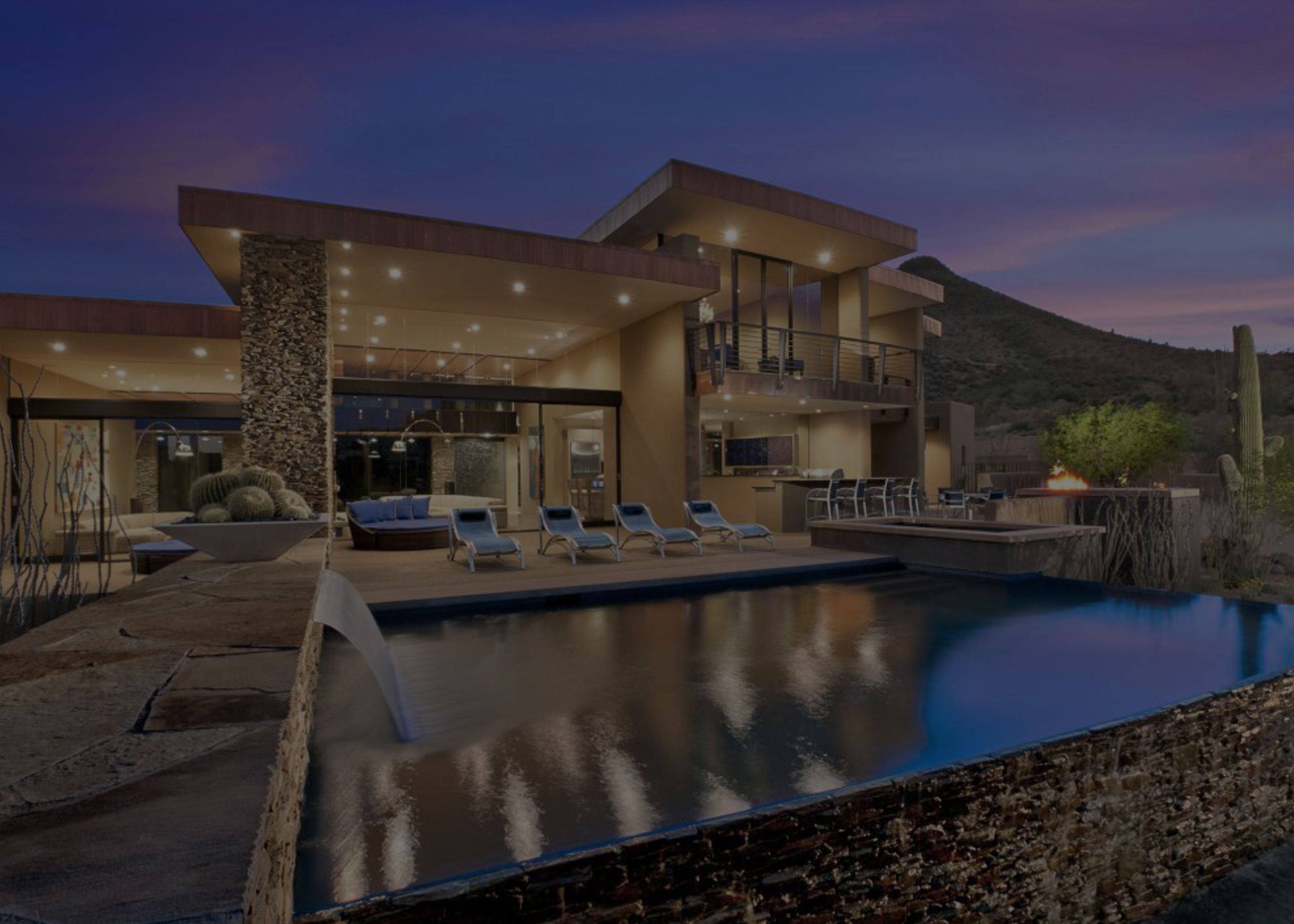 Beautiful properties with amazing views