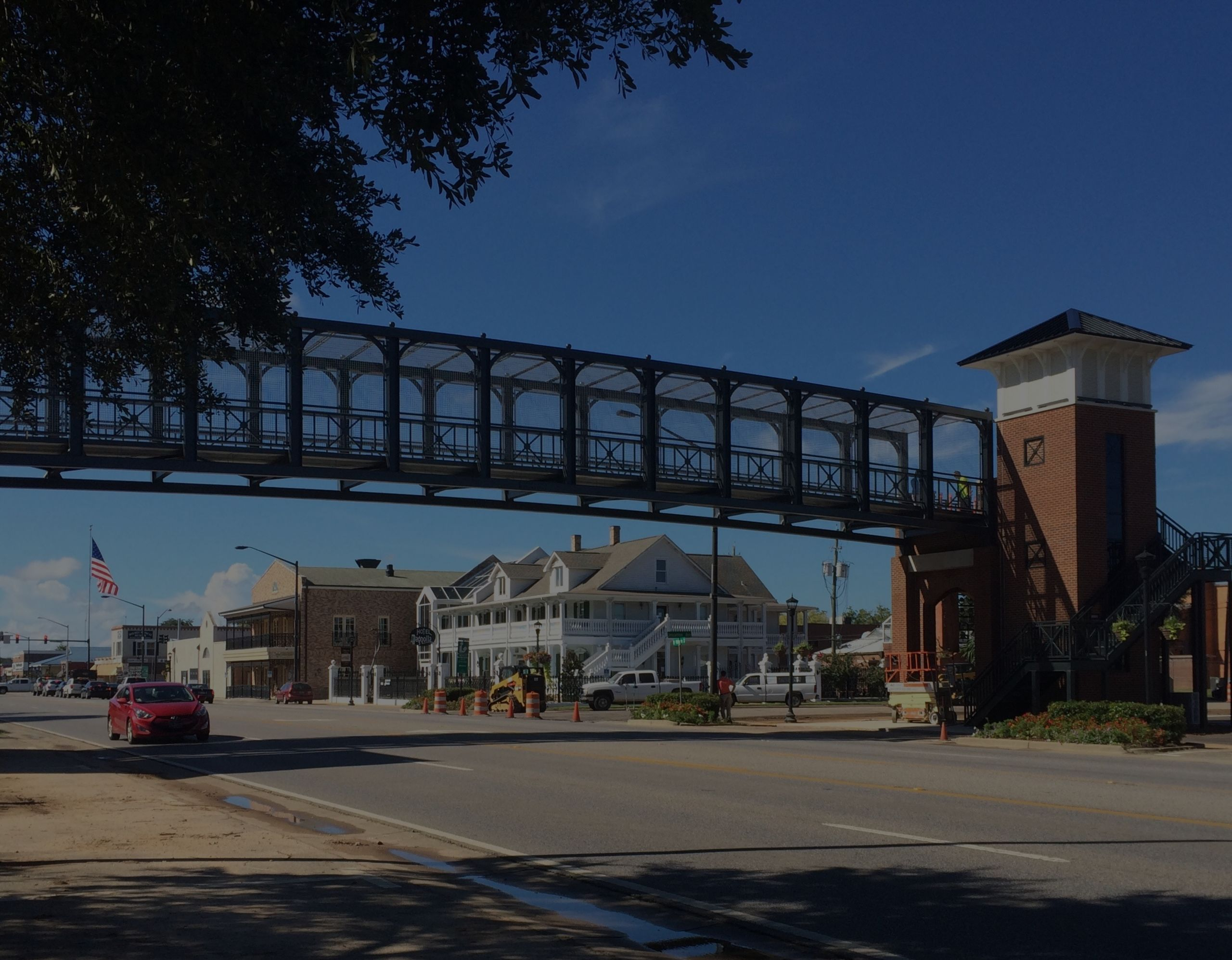 Downtown Foley Pedestrian Bridge