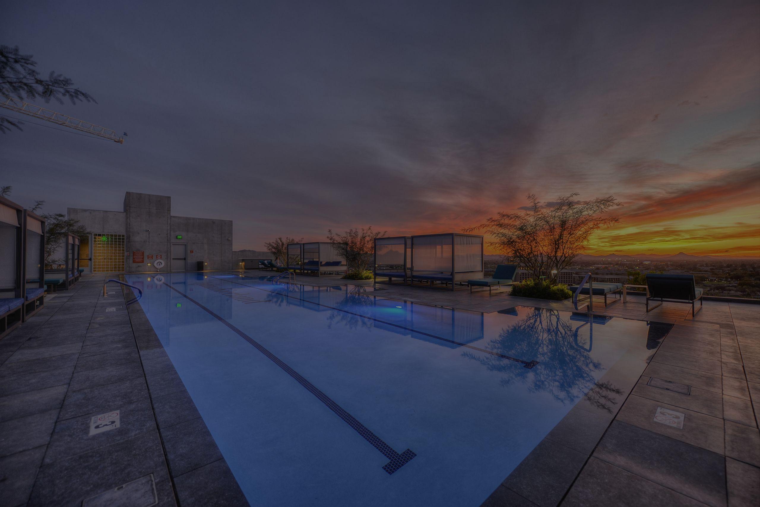 Optima Kierland - Skydeck at Sunset
