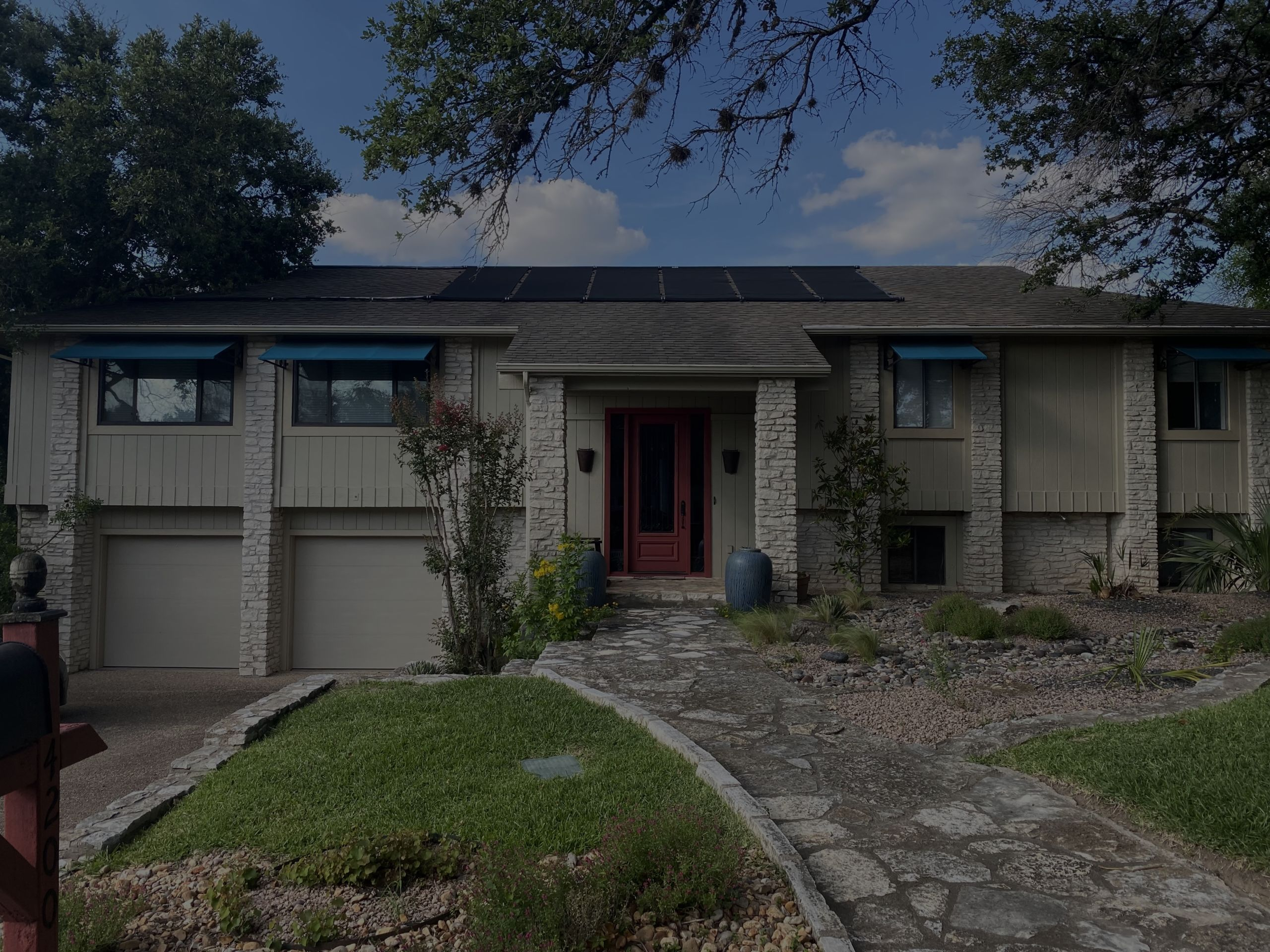 4200 Bluffridge: Hill Country estate in the city. This private 1/3 acre yard and 3,262 sq foot home has it all.