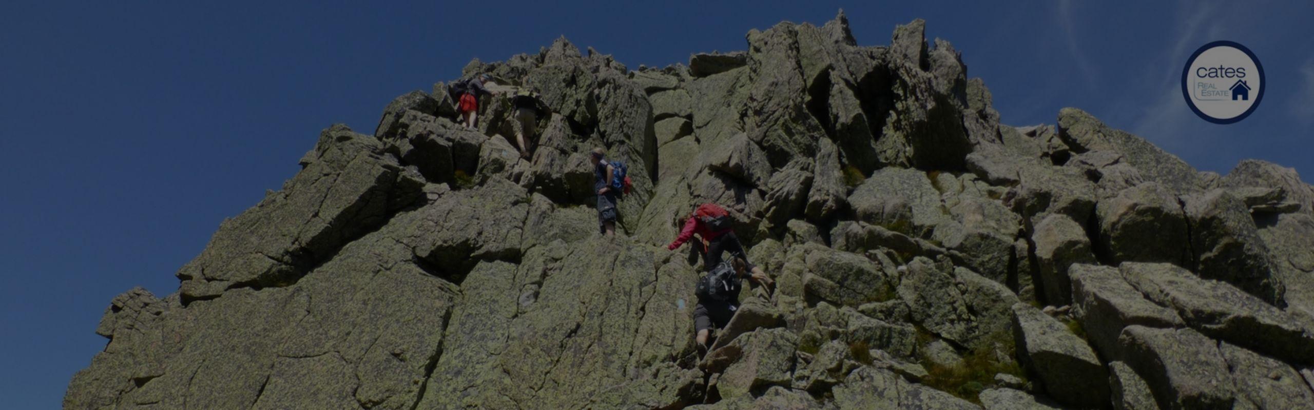 Go outside, overcome fears, climb a mountain