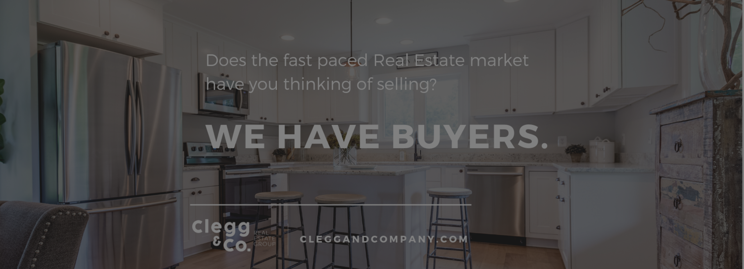 We have 2,000+ active buyers in our database.