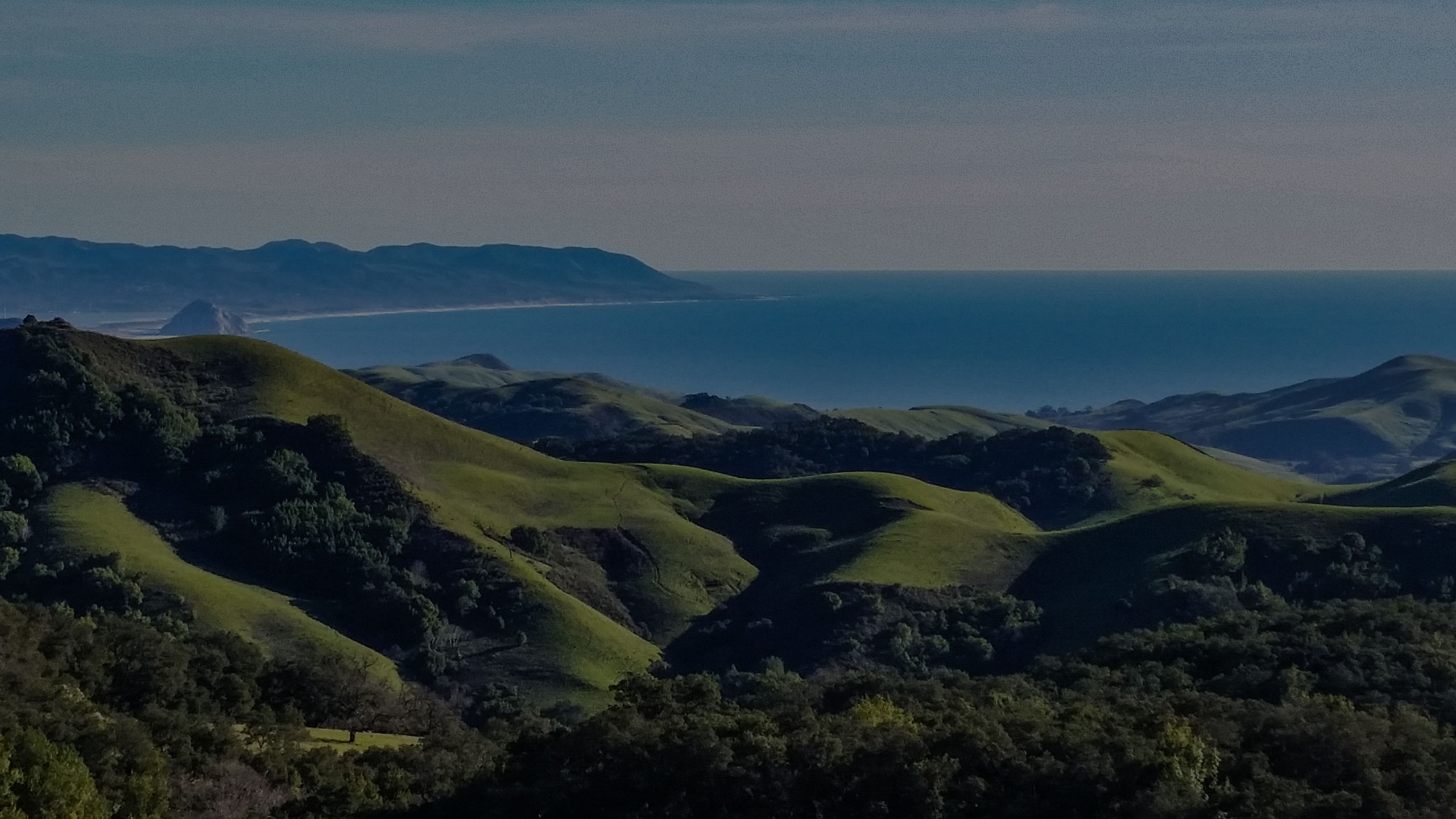 The Central Coast from Hwy 46