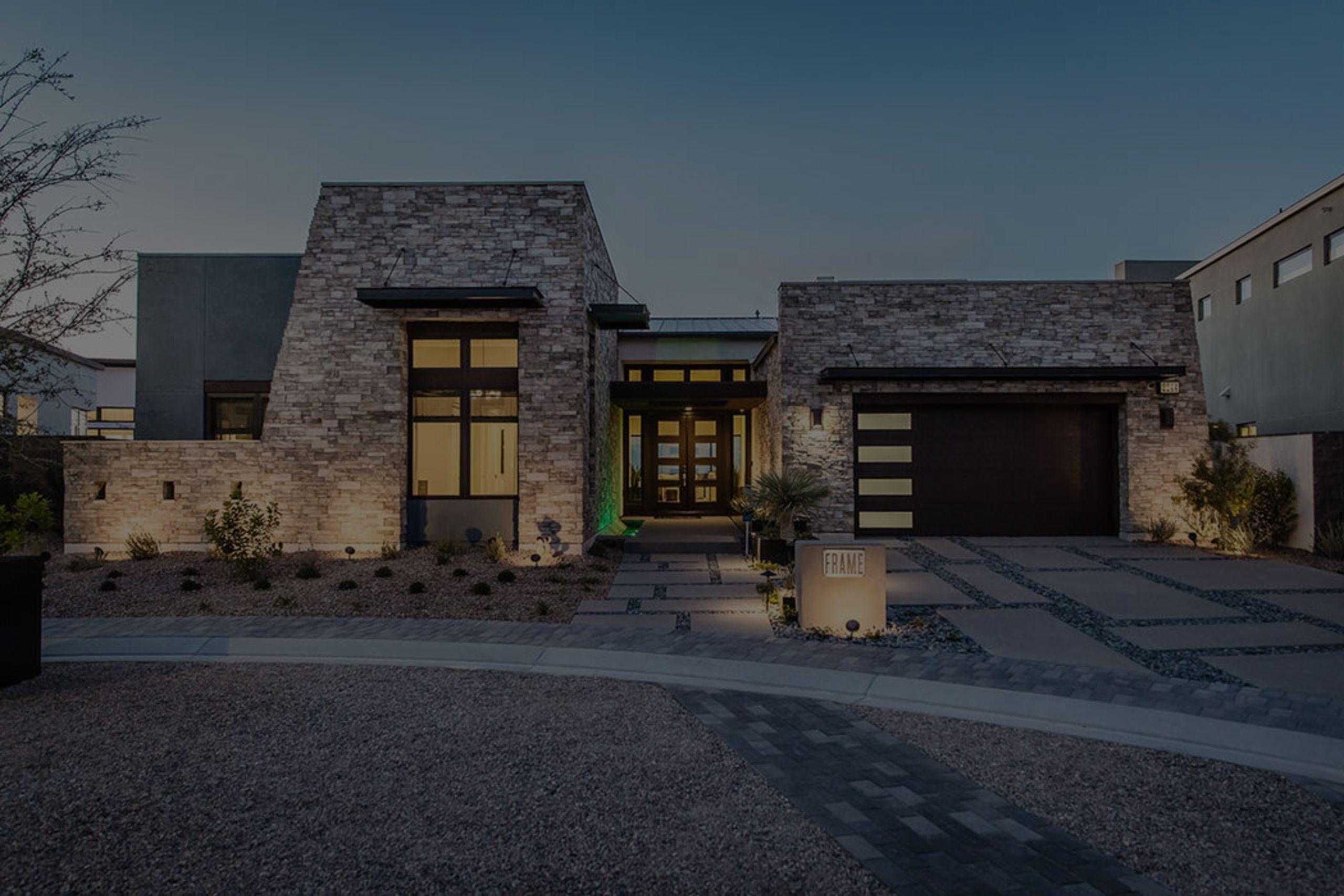 Modern homes for every taste