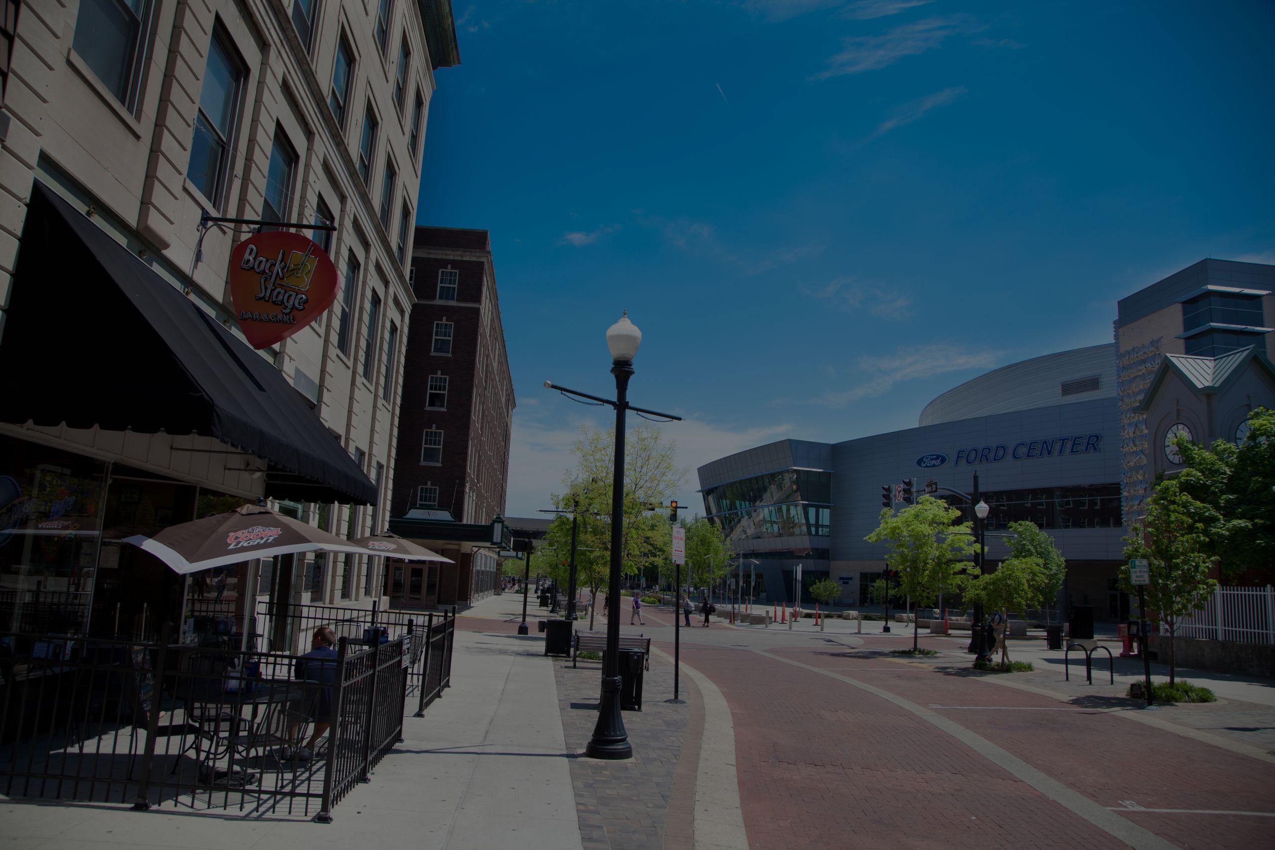 Main St. Evansville
