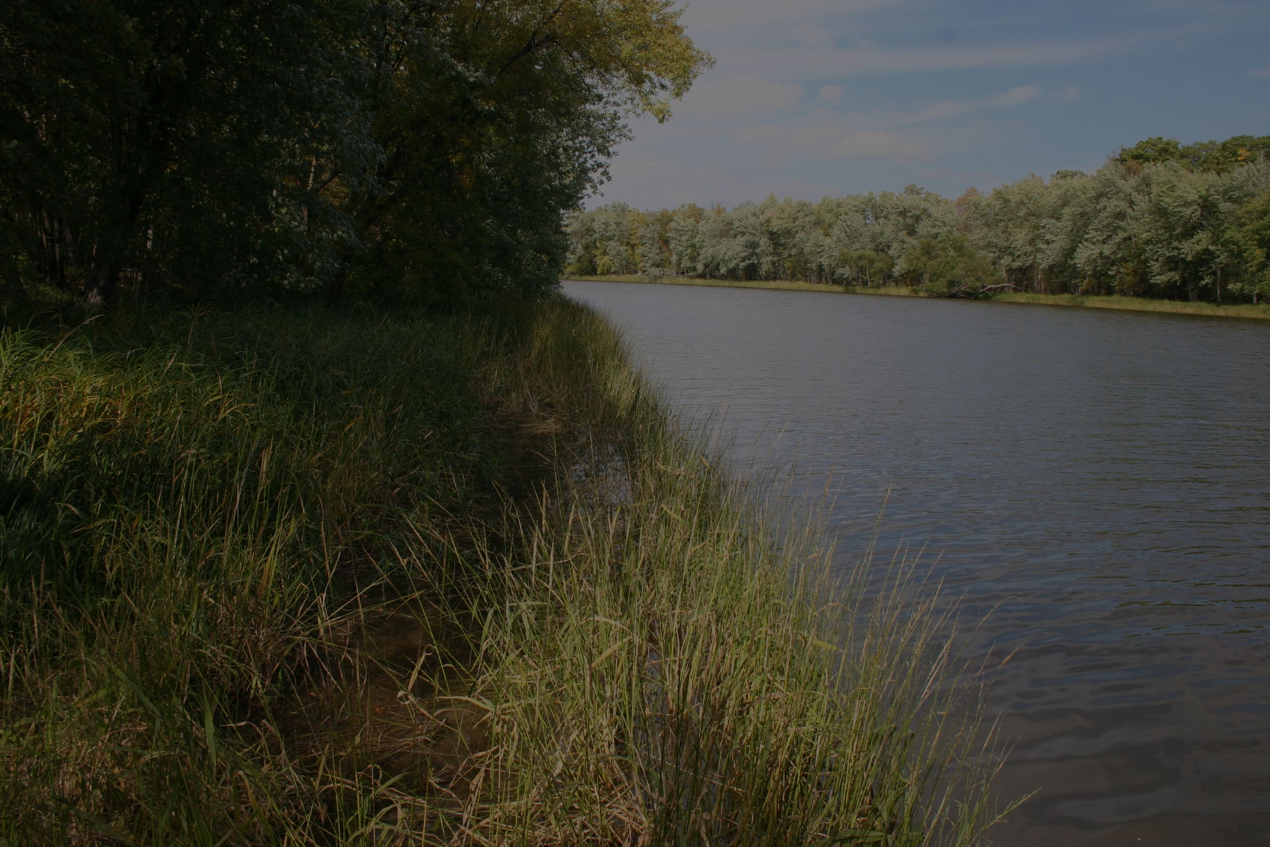 Enjoy the striking lake or river side views