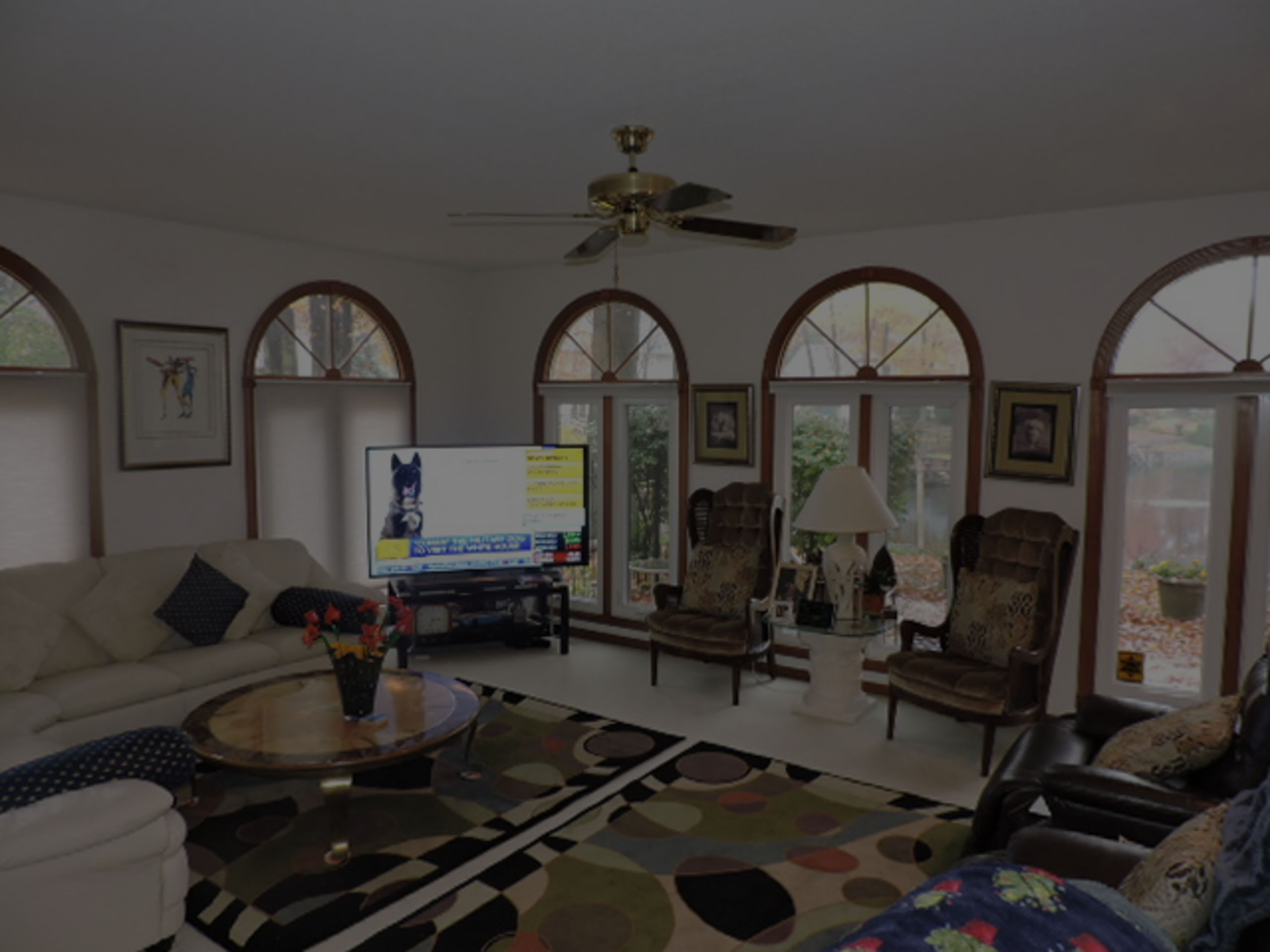 Incredible Family Room Also W/Spectacular Views