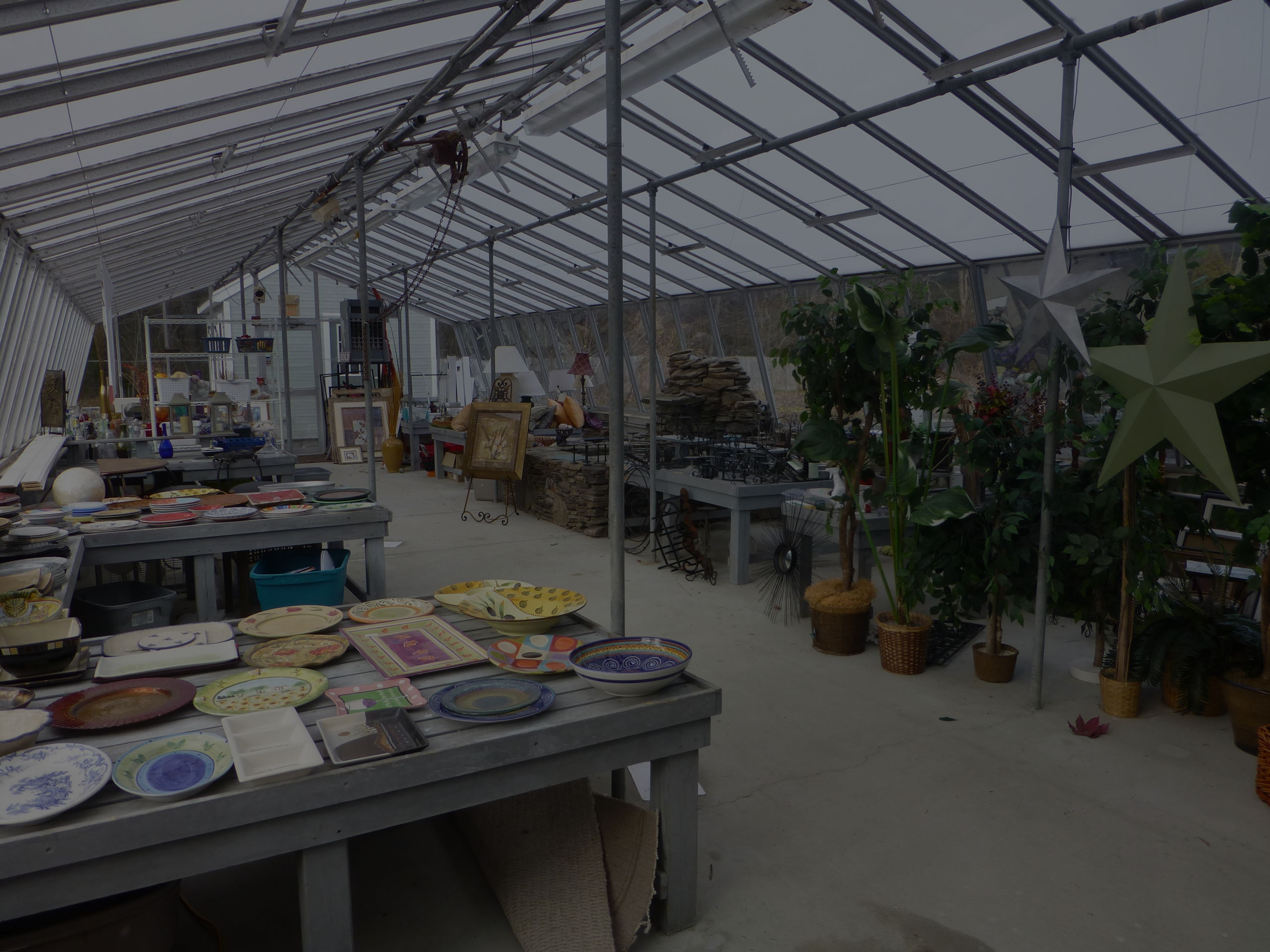 Our staging shed has hundreds of items to help showcase your home.