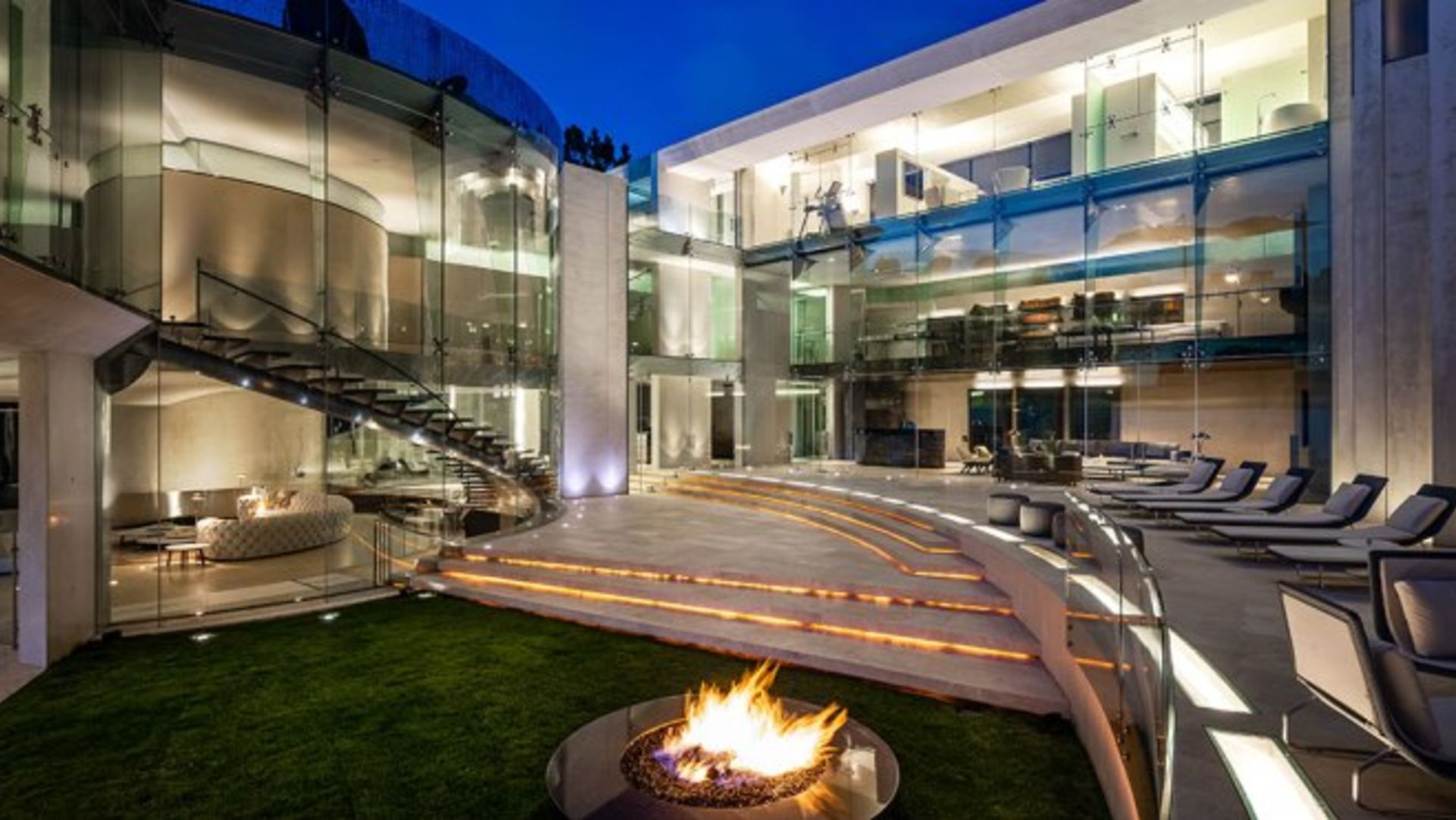 """Home of the Week: Alicia Keys and Swizz Beatz's New $21 Million SoCal Oceanfront Masterpiece The home's incredible subterranean garage appeared in the """"Iron Man"""" movie."""