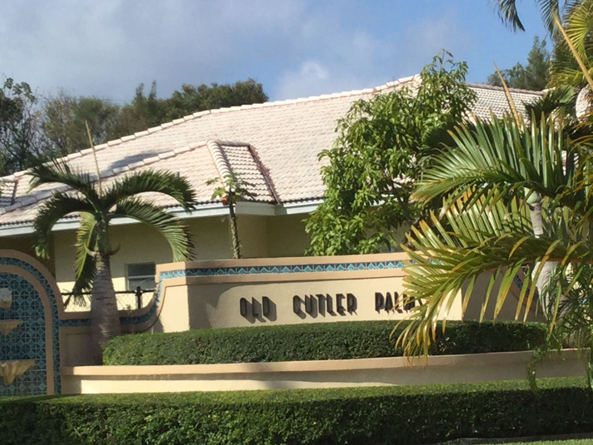 Old Cutler Palms