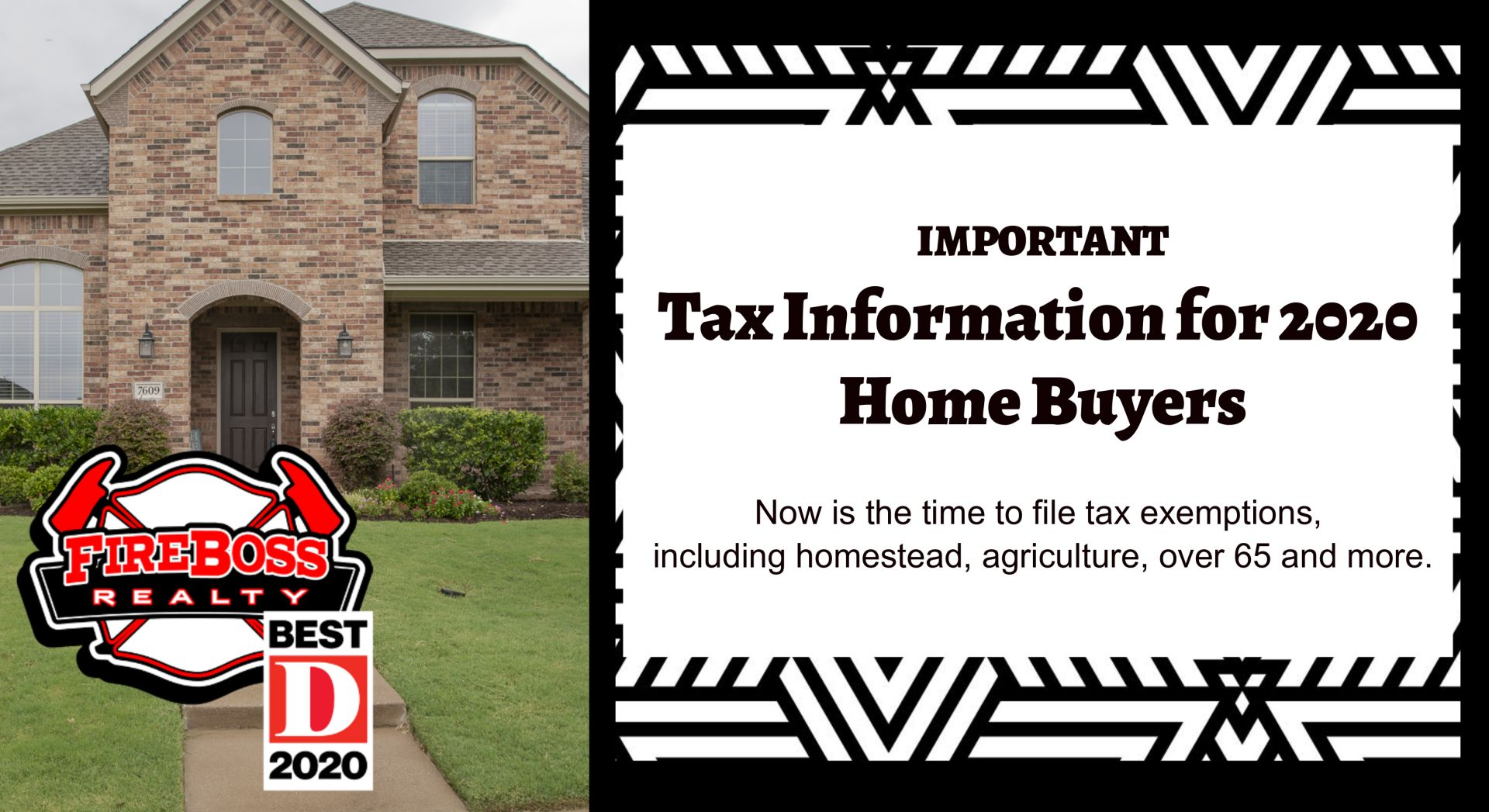 Important Tax Information for 2020 Home Buyers