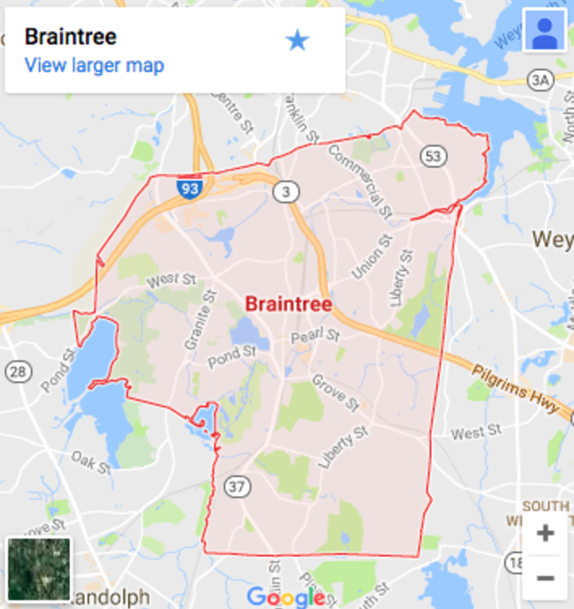 Braintree Homes for Sale