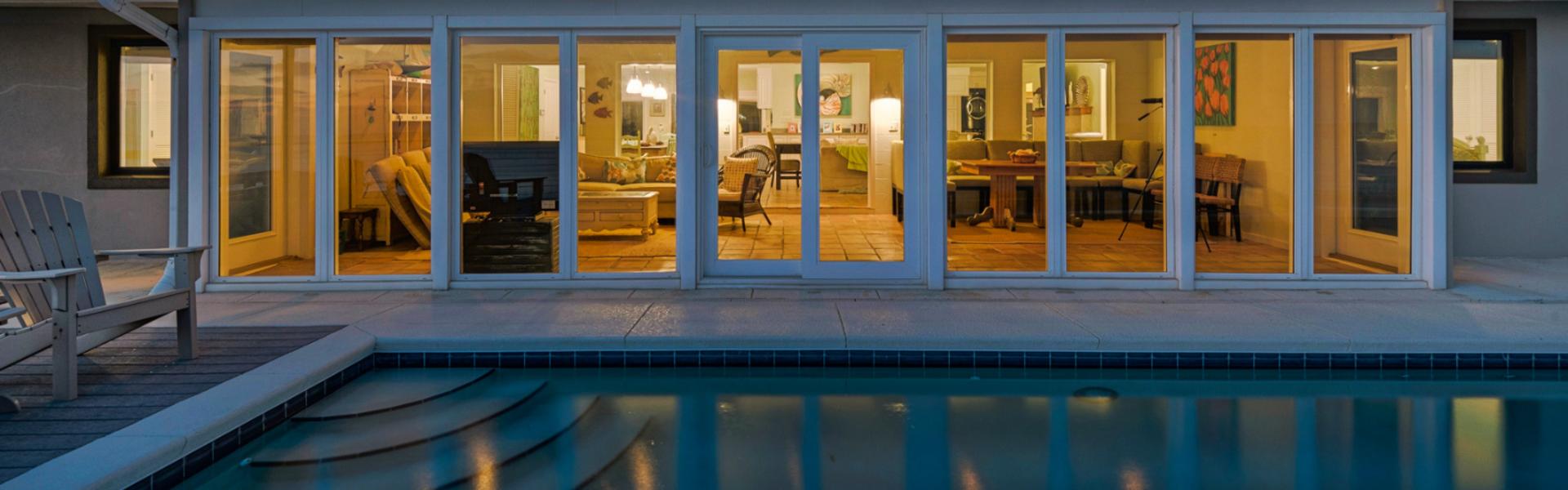 Rare Beachfront Home in Ultra-Exclusive Four Mile Village