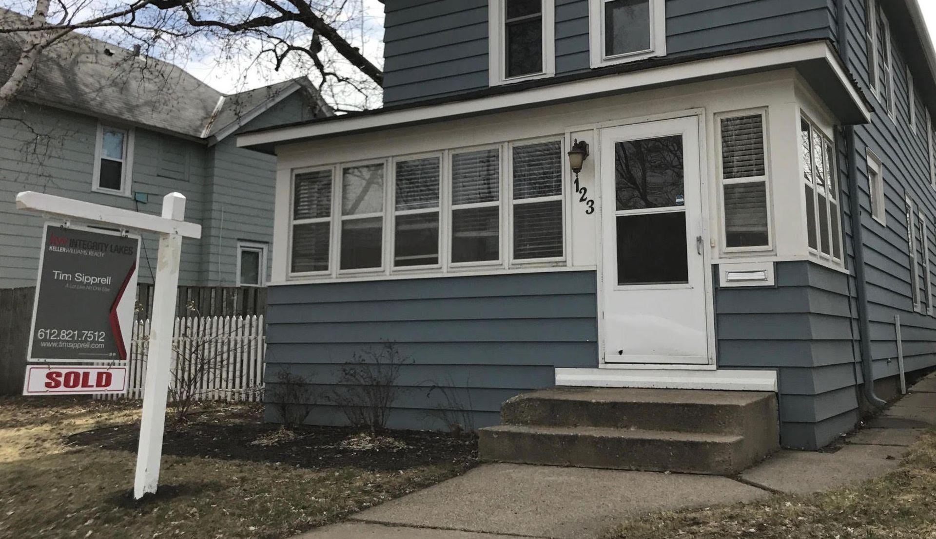 JUST SOLD 123 W. 39th Street Minneapolis-Kingfield Sold Pre-MLS
