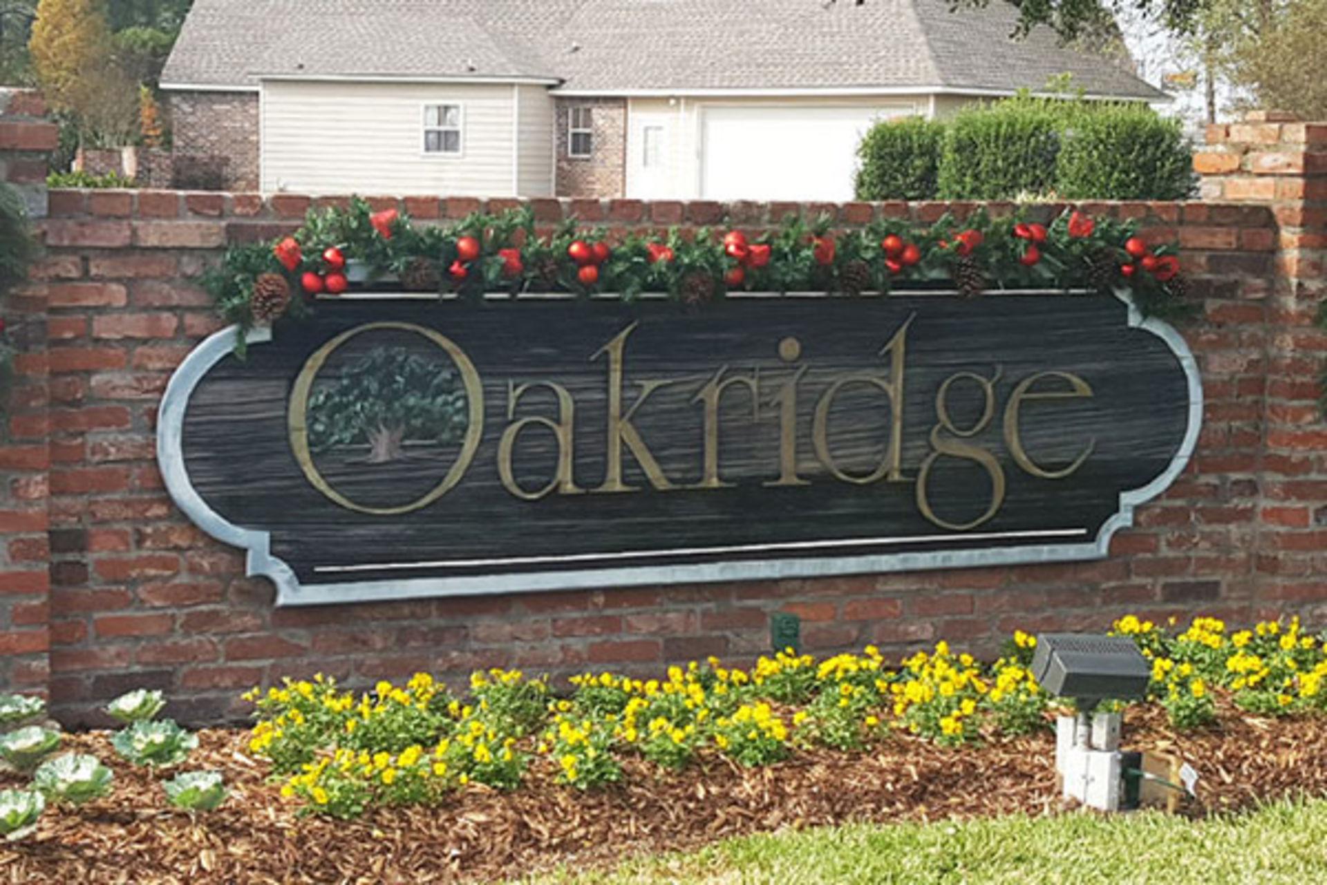 Oakridge Subdivision