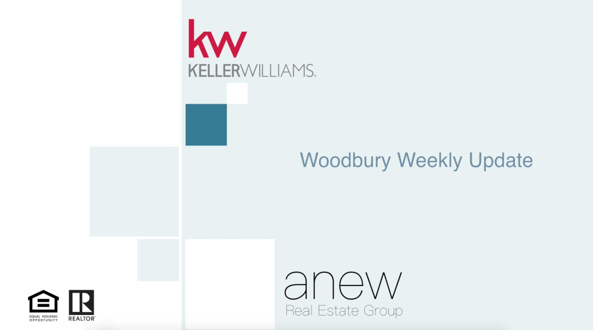 Woodbury Weekly Update: September 4th