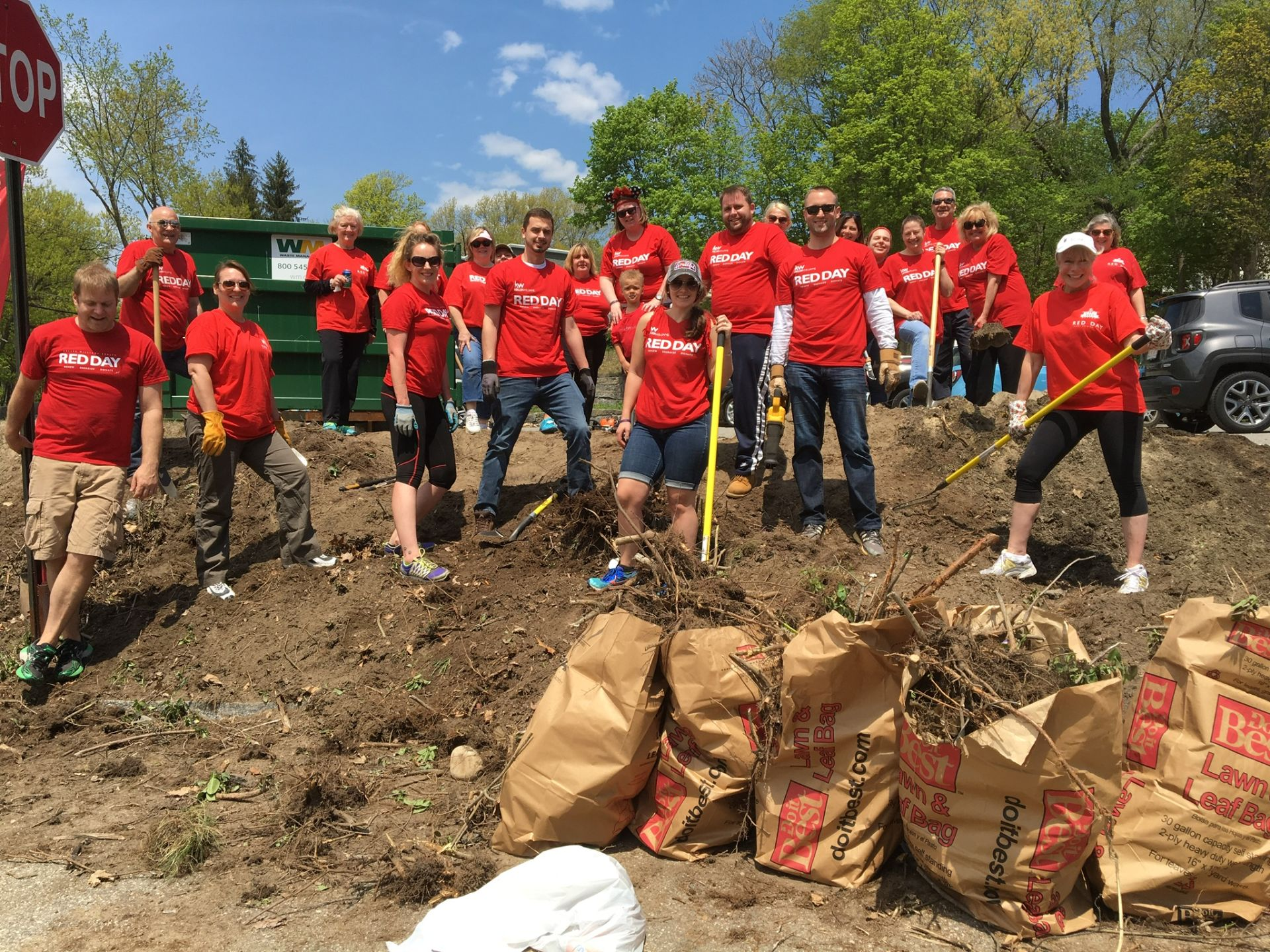 "Keller-Williams ""Red Day"" Tradition Is a Chance to Give Back and Give Hope"