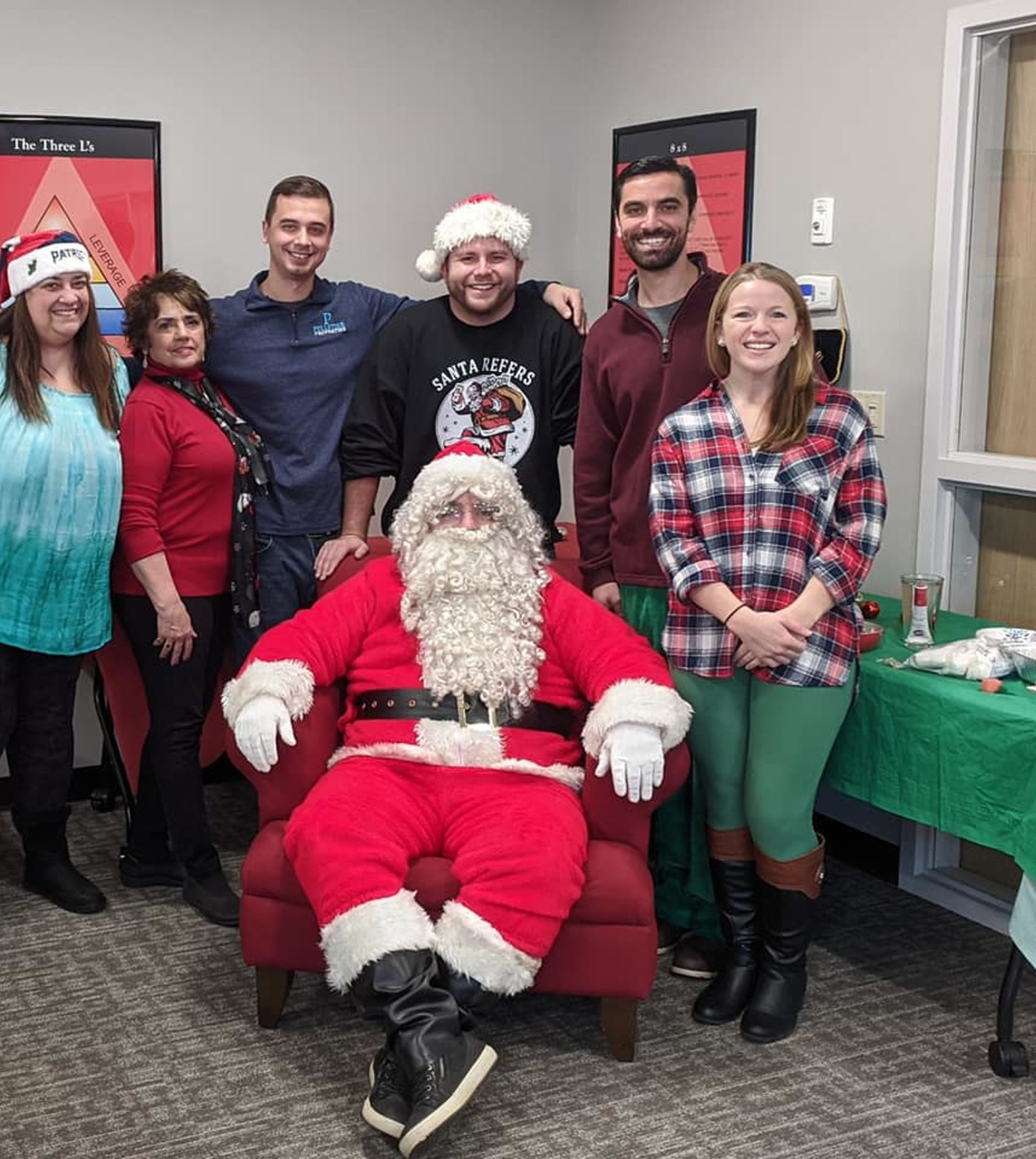 Pelletier Properties Gingerbread House Holiday Party Brings Sweet Treats and Santa!
