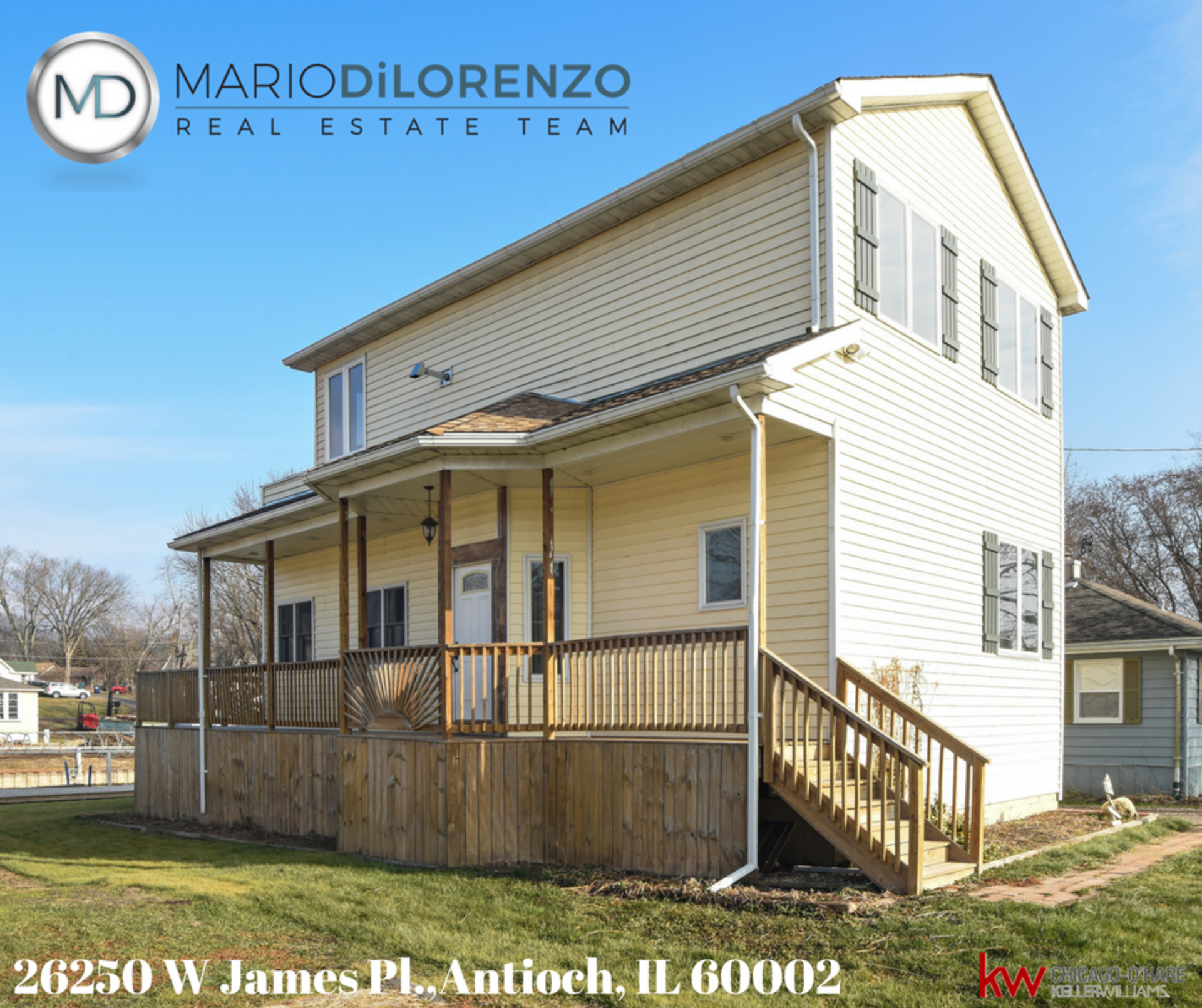 Open house, january 7, 2018 from 1-3pm, 26250 W. James Pl., Antioch il 60002