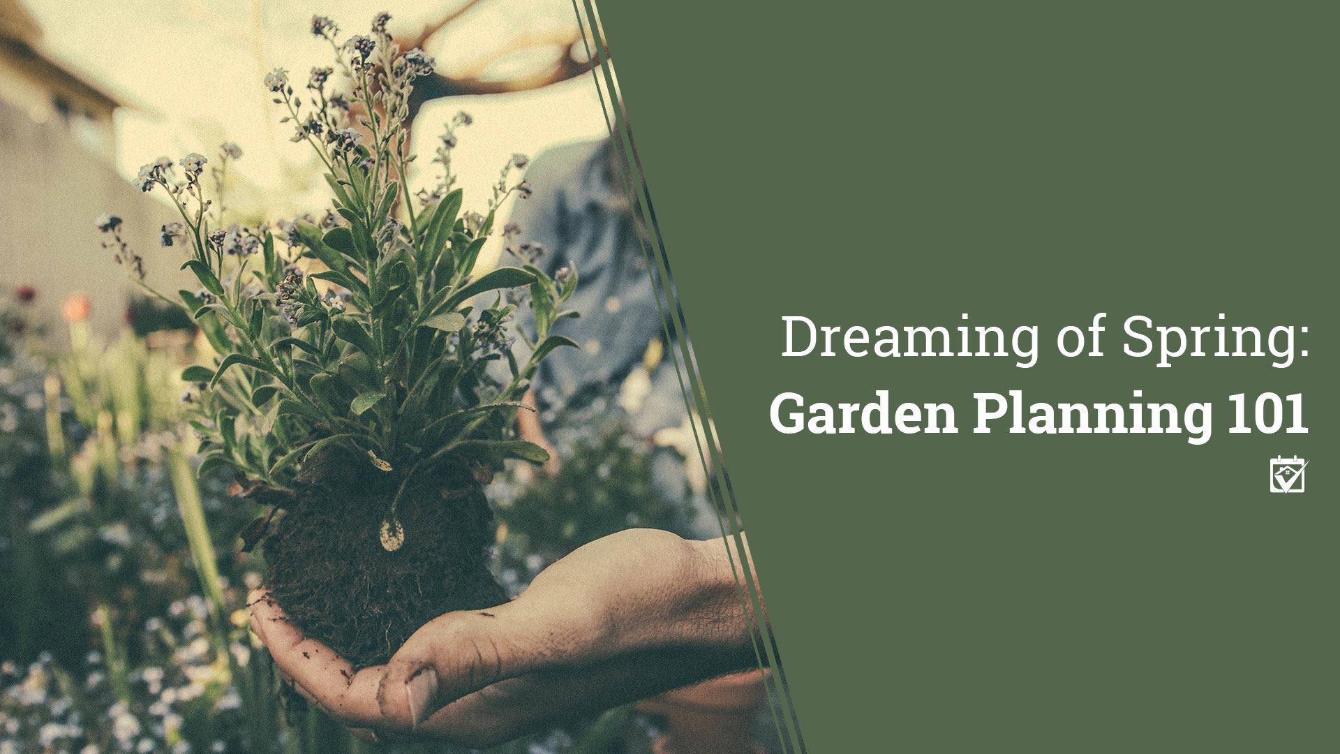 Dreaming of your Spring Garden?