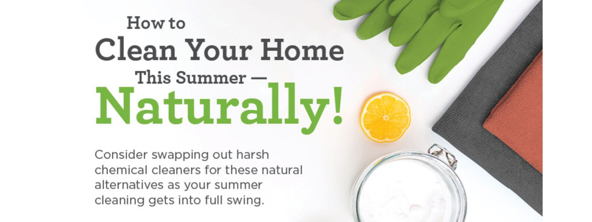 How to Clean Your Home Naturally!