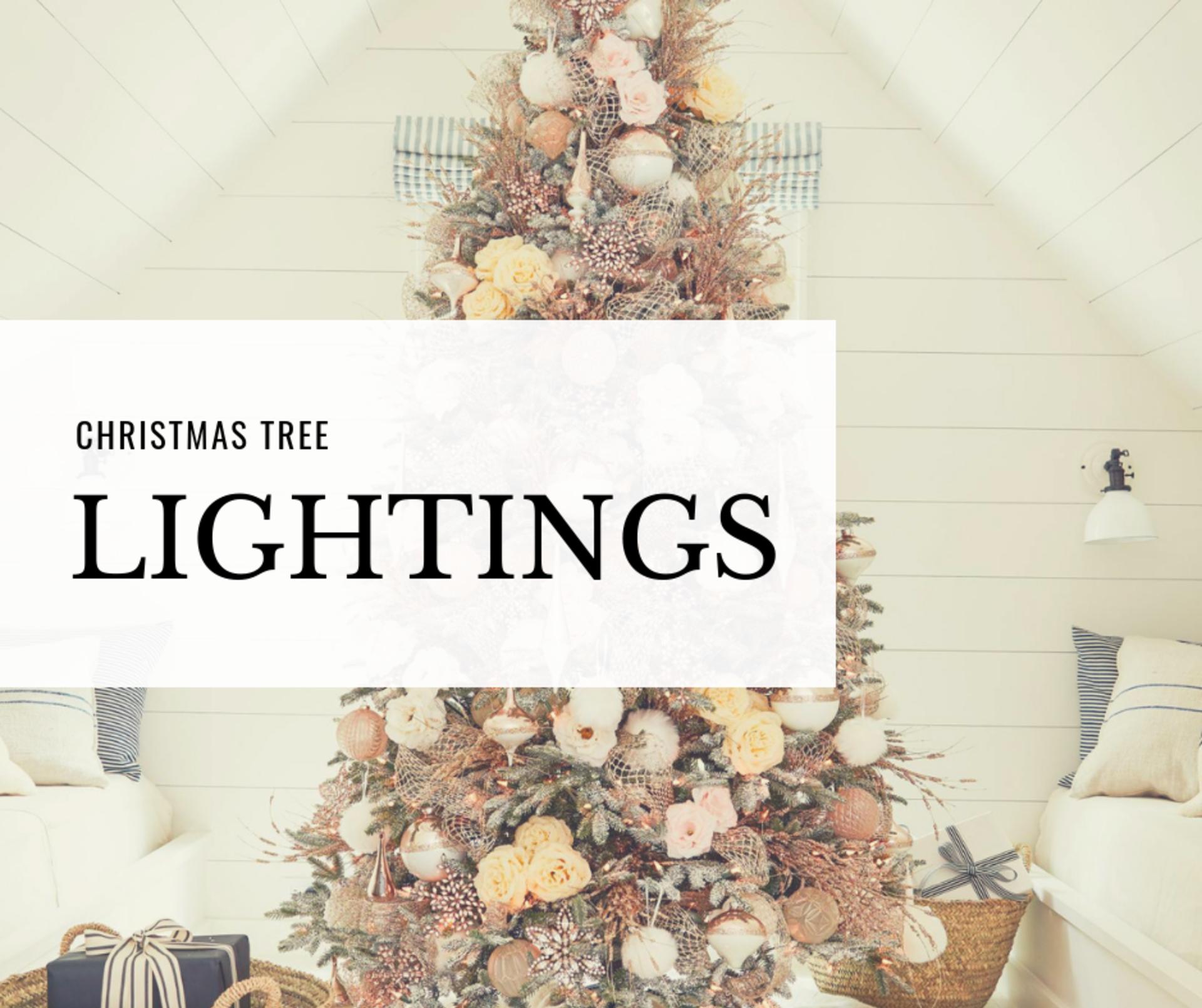 'Twas the Weekend of Tree Lightings…