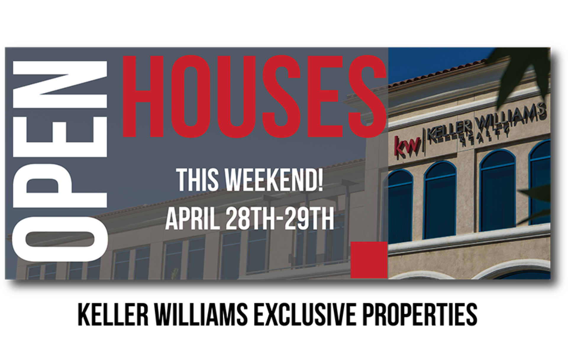Open Houses This Weekend April 28-29