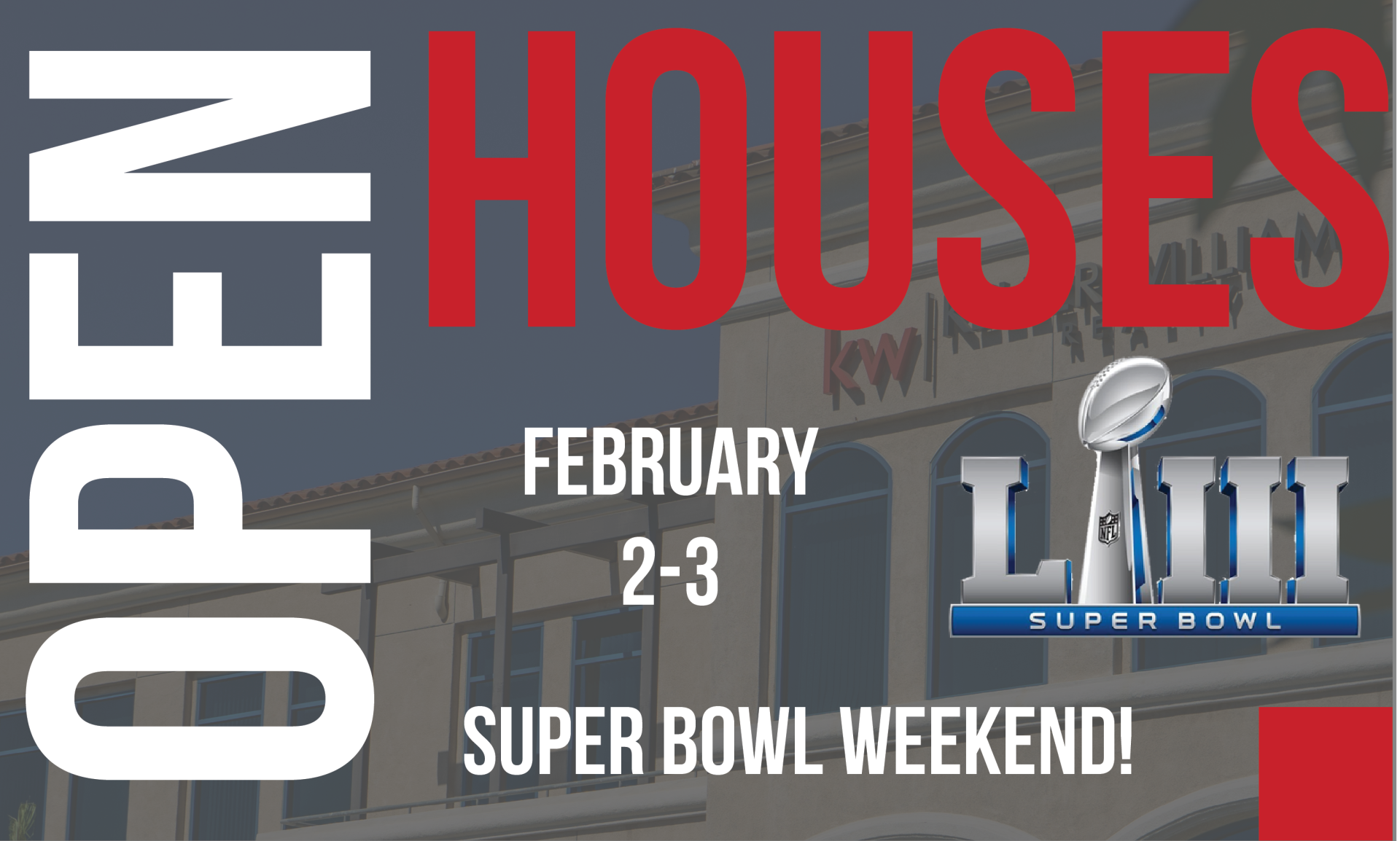 Super Bowl Weekend Home Houses!