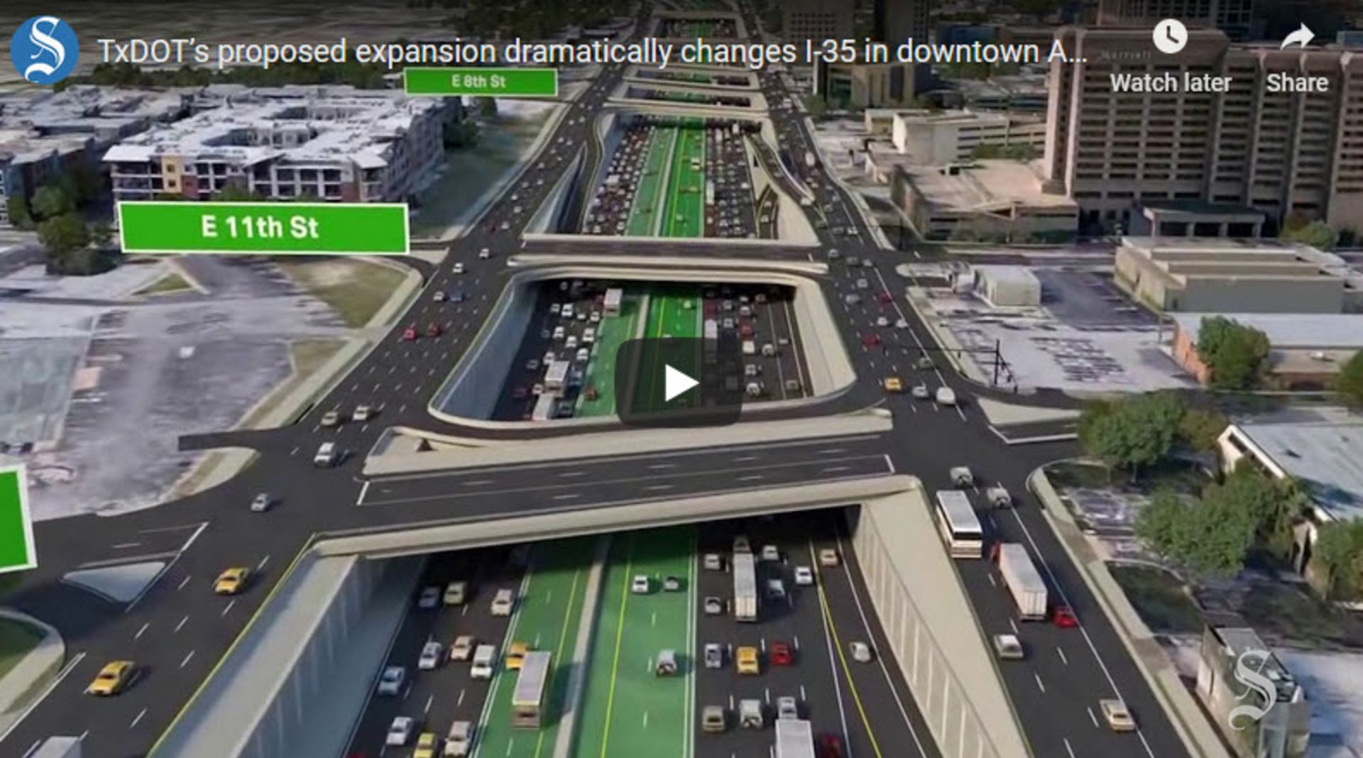 State pours $3.4B more into Austin's I-35 expansion