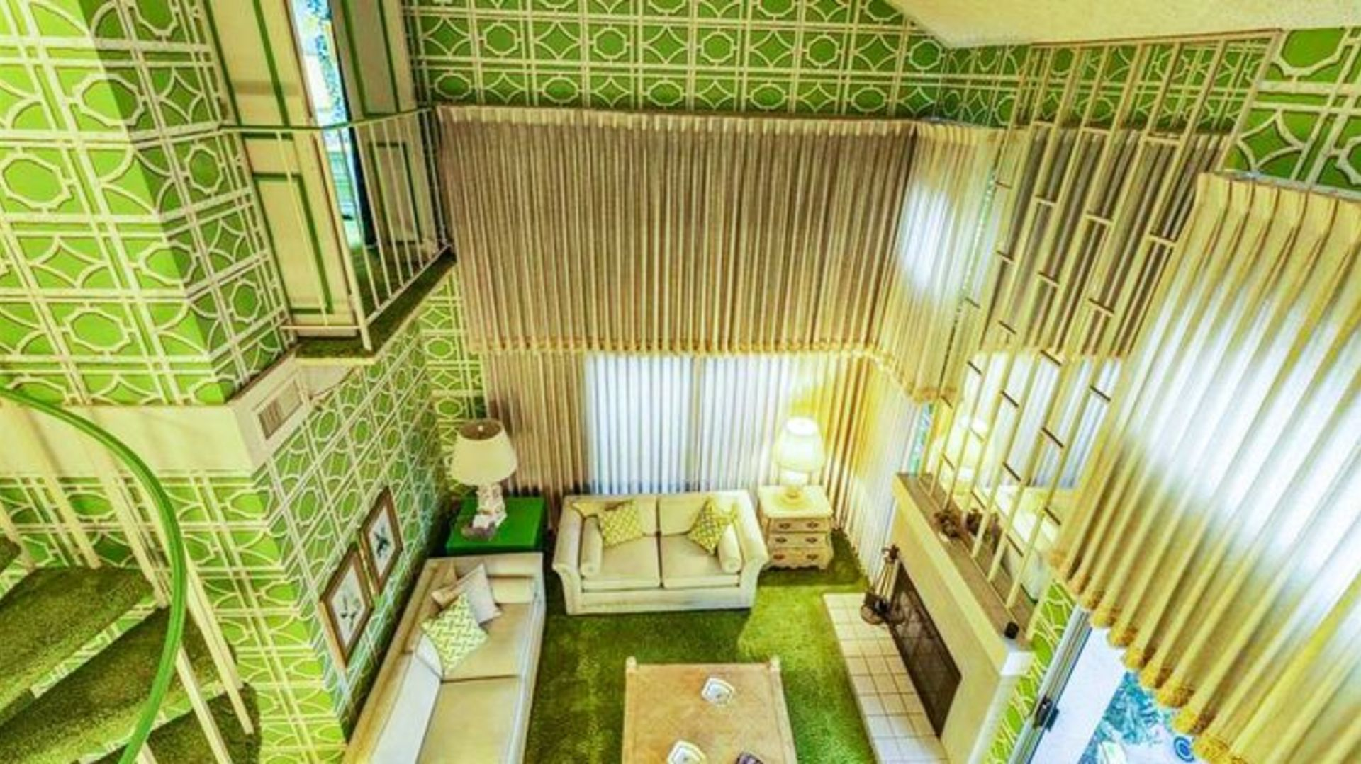 Far Out! You Won't Believe the Colors in This '70s Time Capsule Condo