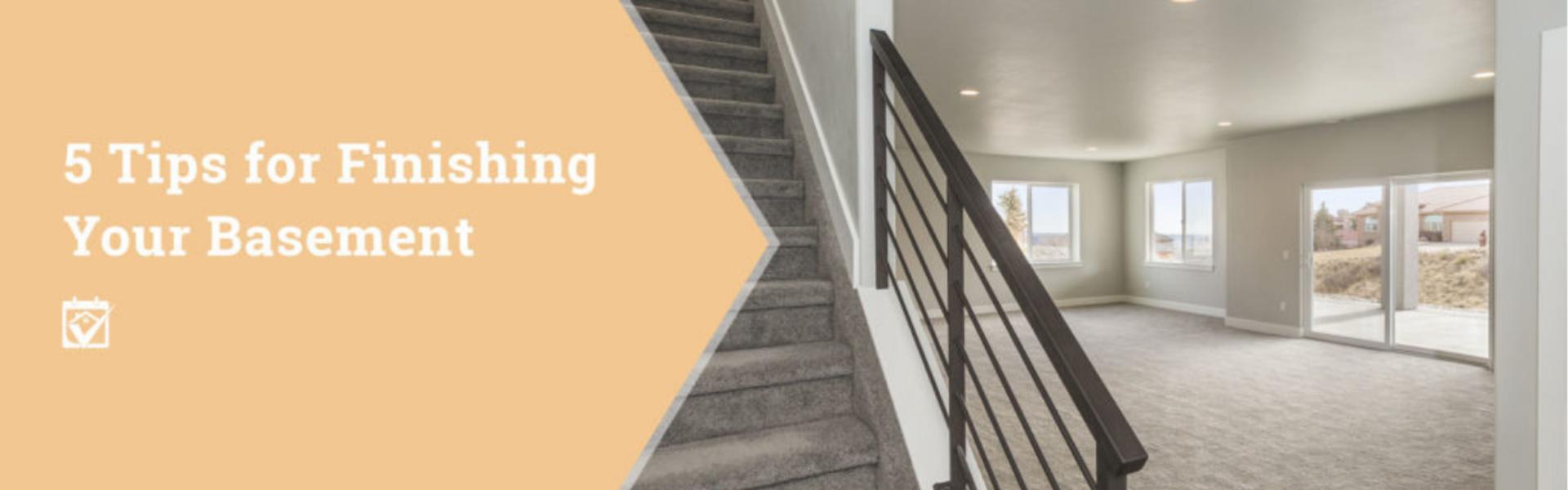 5 Tips for Finishing Your Basement