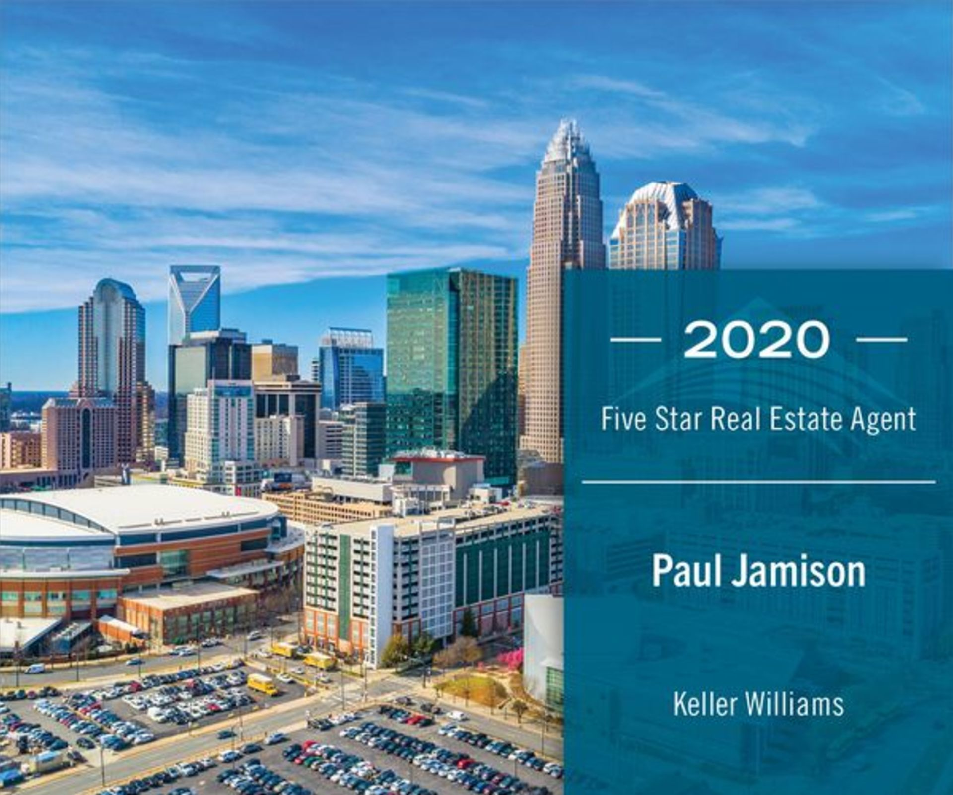 Paul Jamison Receives Five Star Real Estate Agent Award